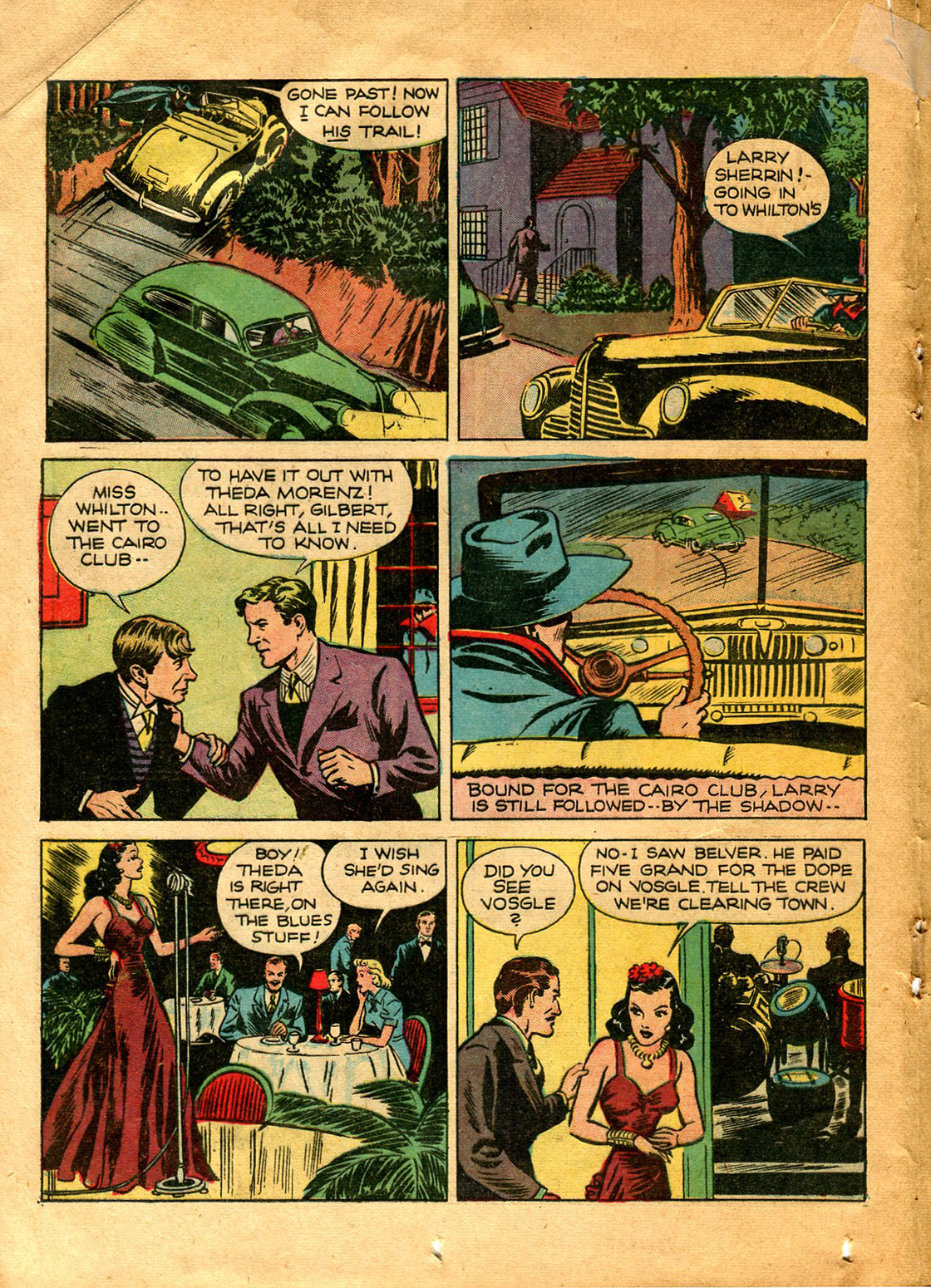 Read online Shadow Comics comic -  Issue #9 - 28