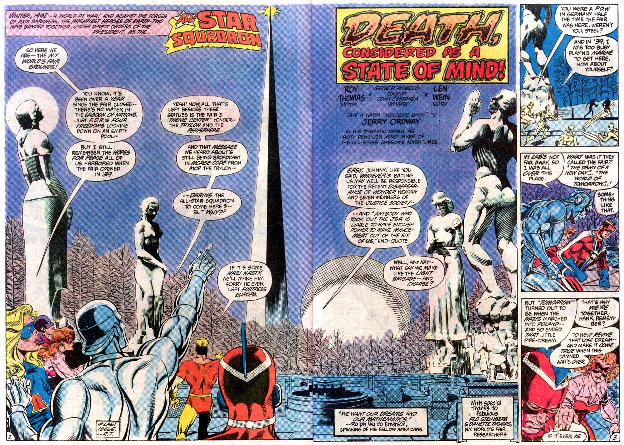 Read online All-Star Squadron comic -  Issue #19 - 3