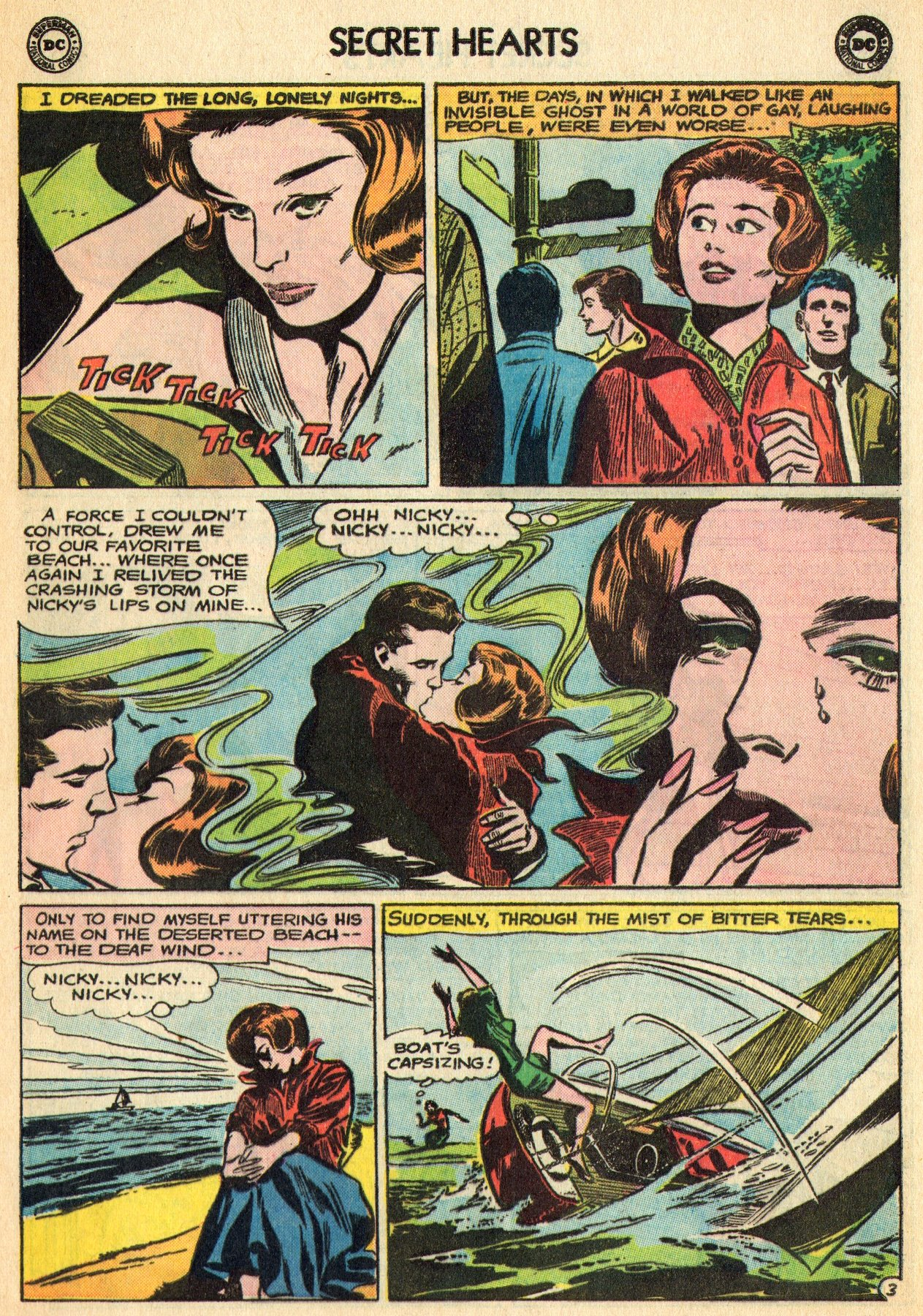 Read online Secret Hearts comic -  Issue #96 - 25