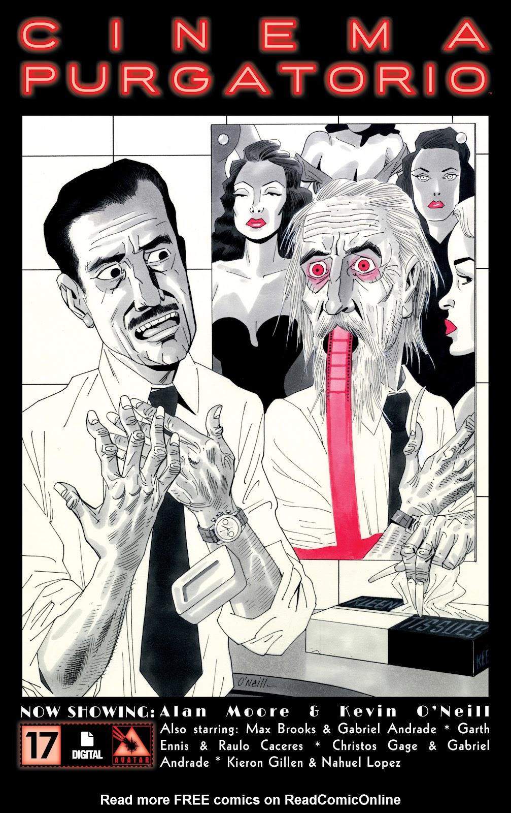 Read online Alan Moore's Cinema Purgatorio comic -  Issue #17 - 1