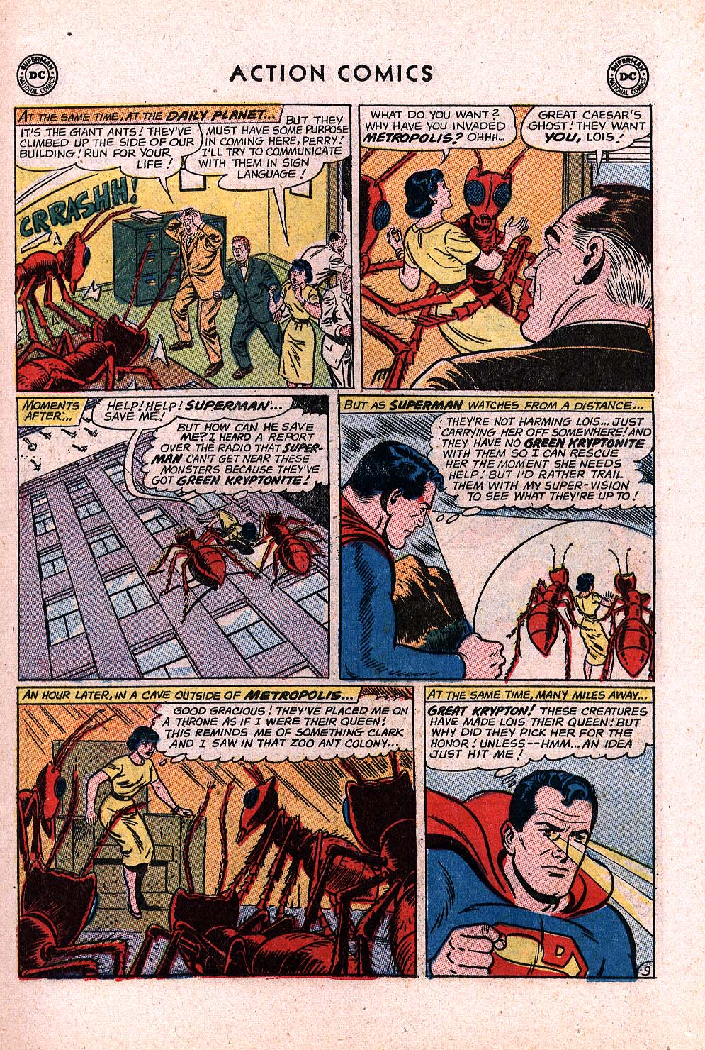 Read online Action Comics (1938) comic -  Issue #296 - 11