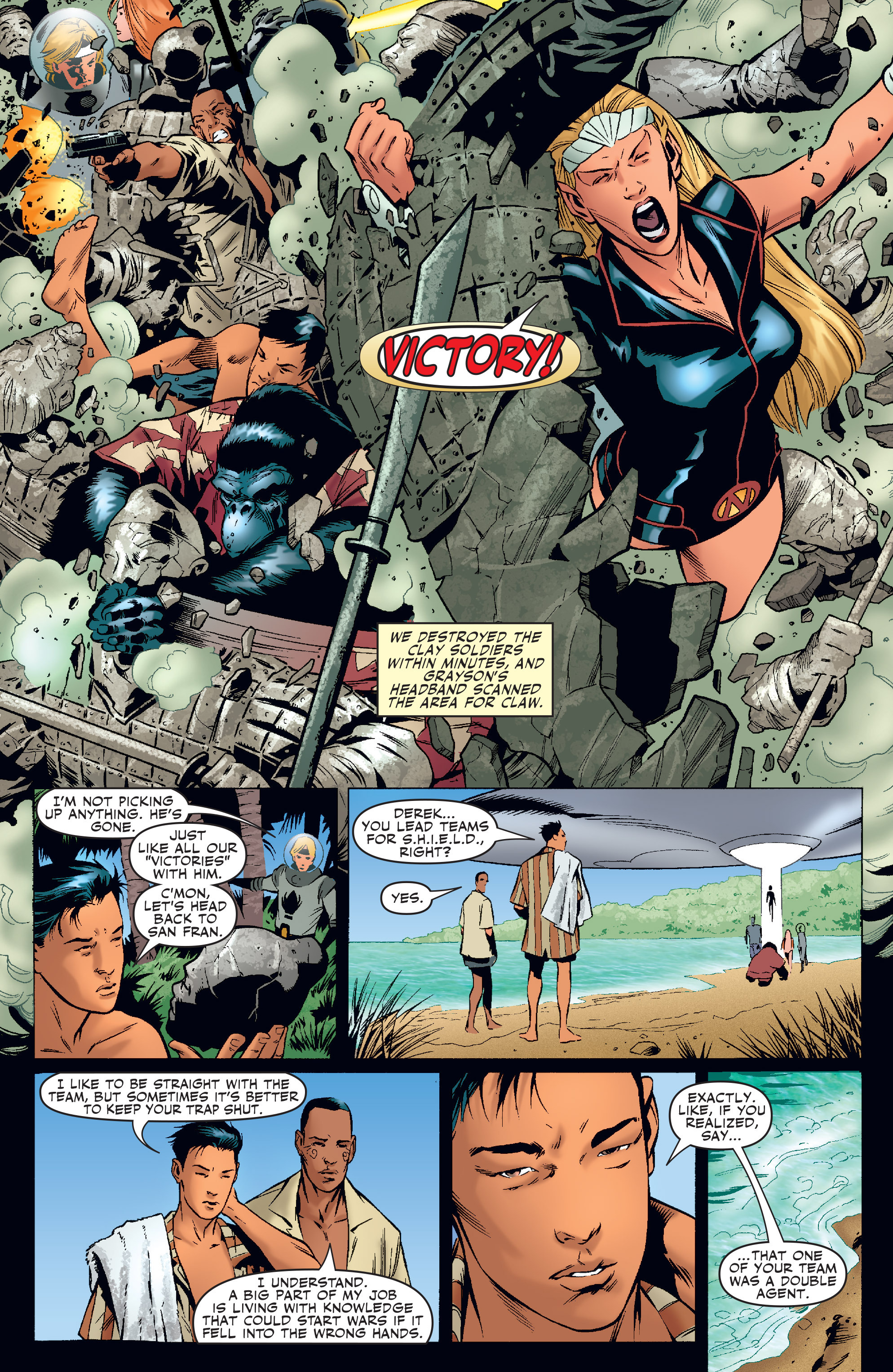 Read online Agents Of Atlas (2006) comic -  Issue #4 - 23