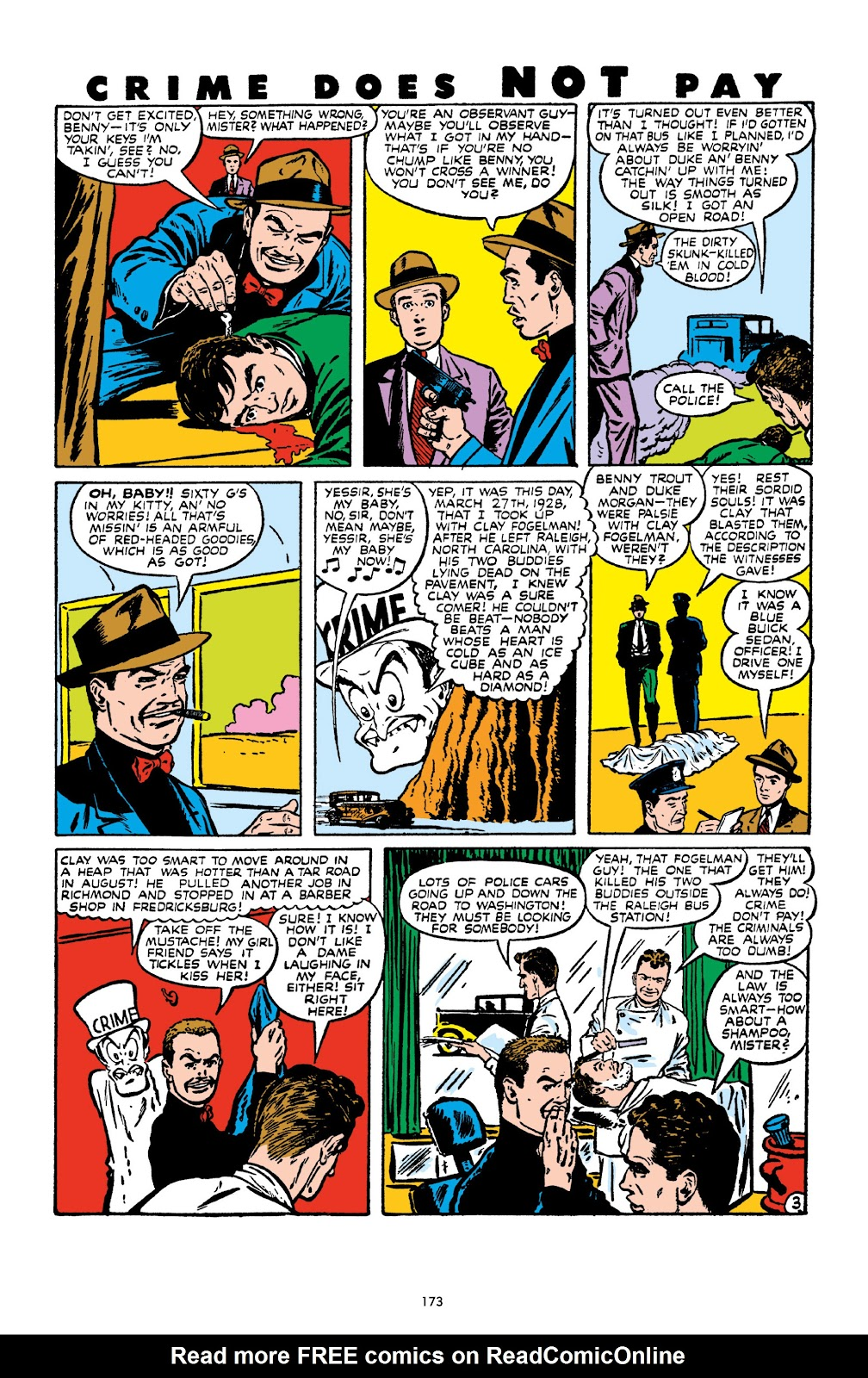 Read online Crime Does Not Pay Archives comic -  Issue # TPB 10 (Part 2) - 74