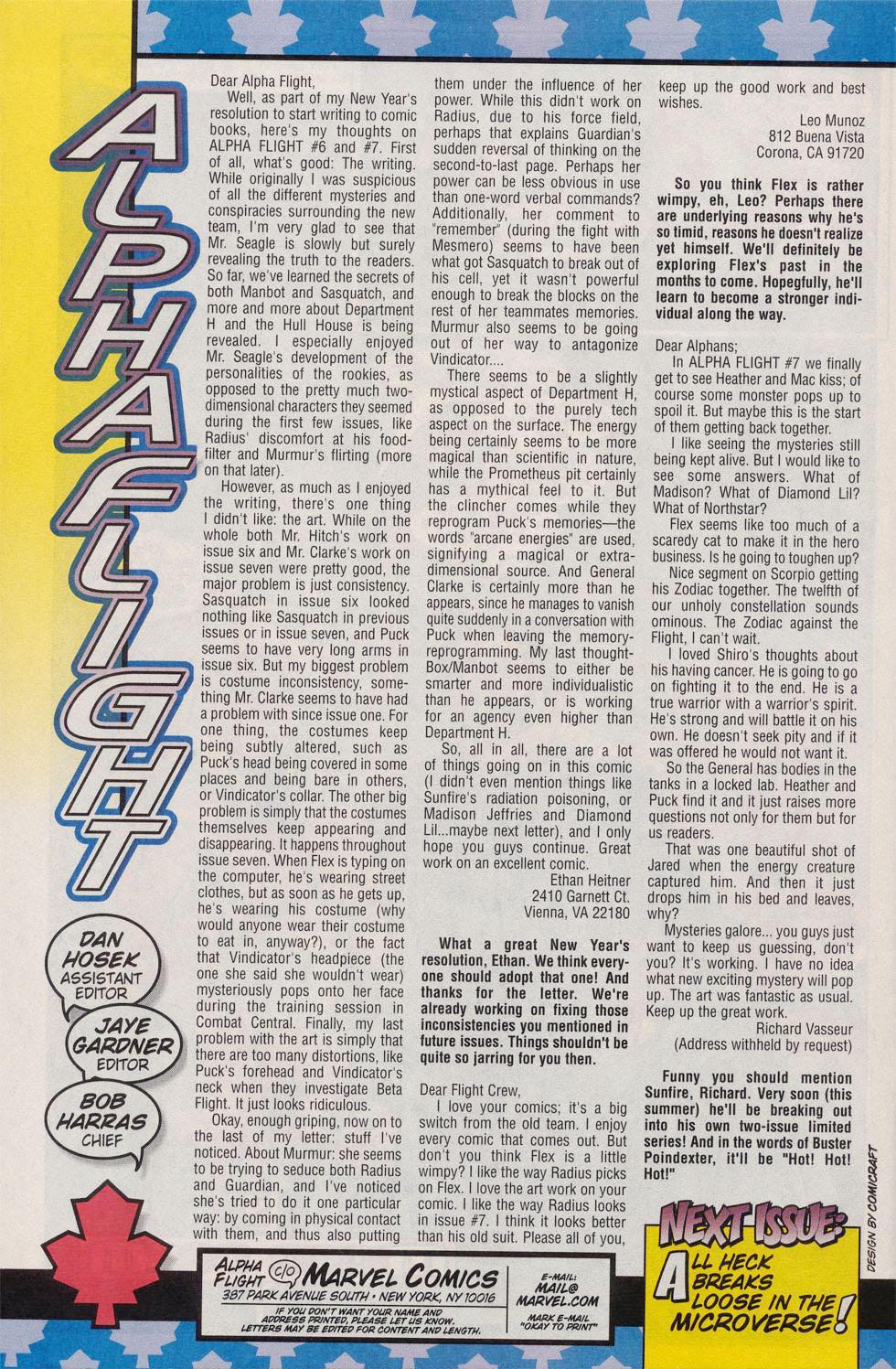 Read online Alpha Flight (1997) comic -  Issue #10 - 24
