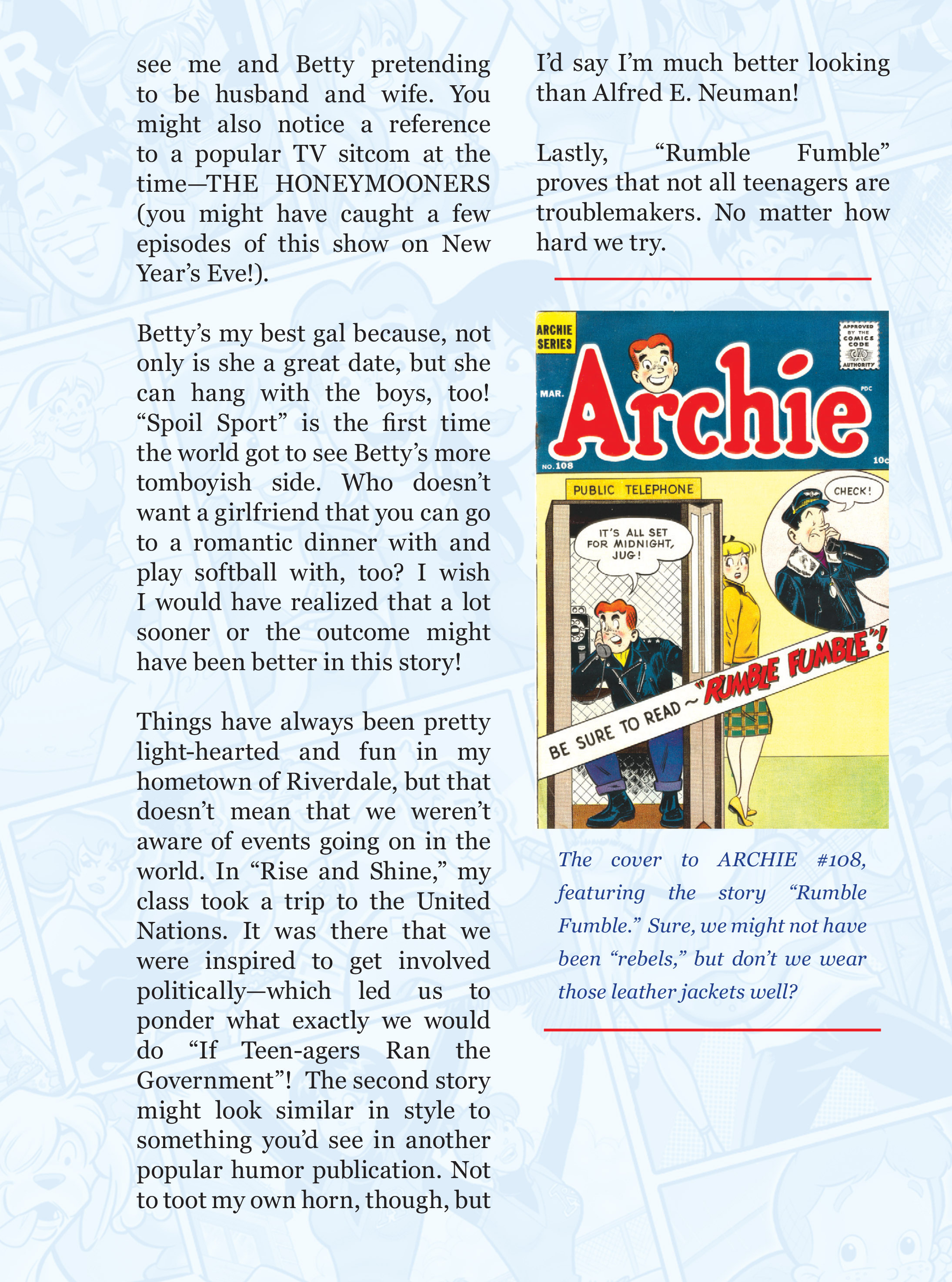 Read online Archie 75th Anniversary Digest comic -  Issue #3 - 58