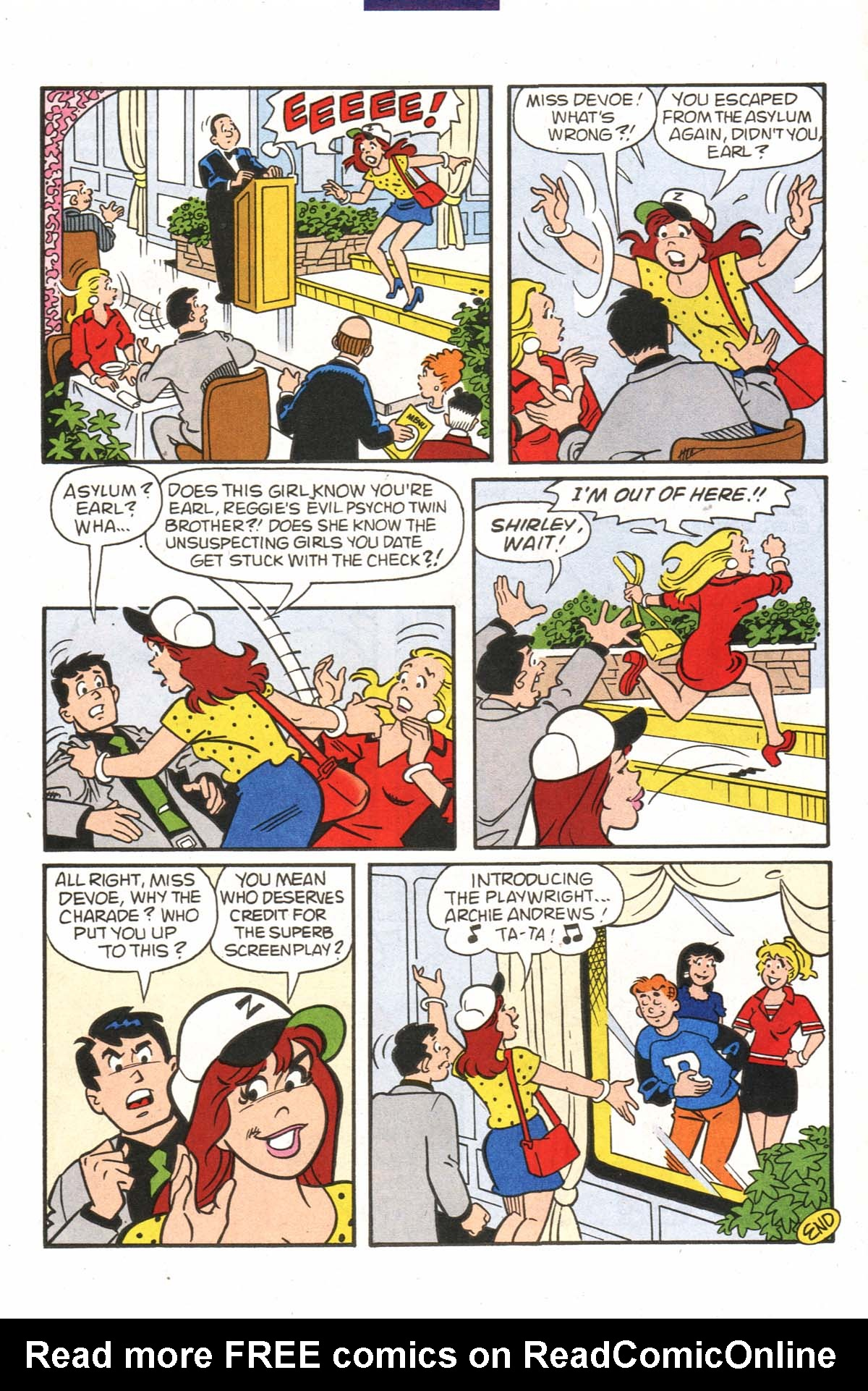 Read online Archie (1960) comic -  Issue #523 - 7