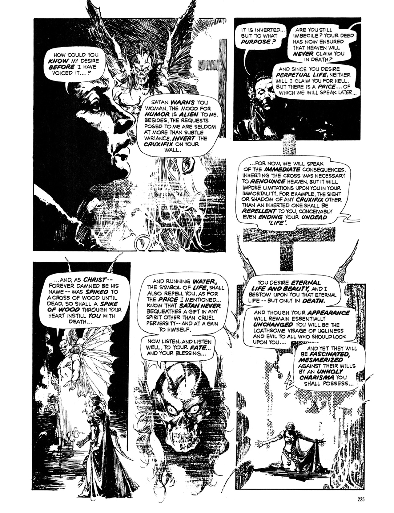 Read online Eerie Archives comic -  Issue # TPB 10 - 226
