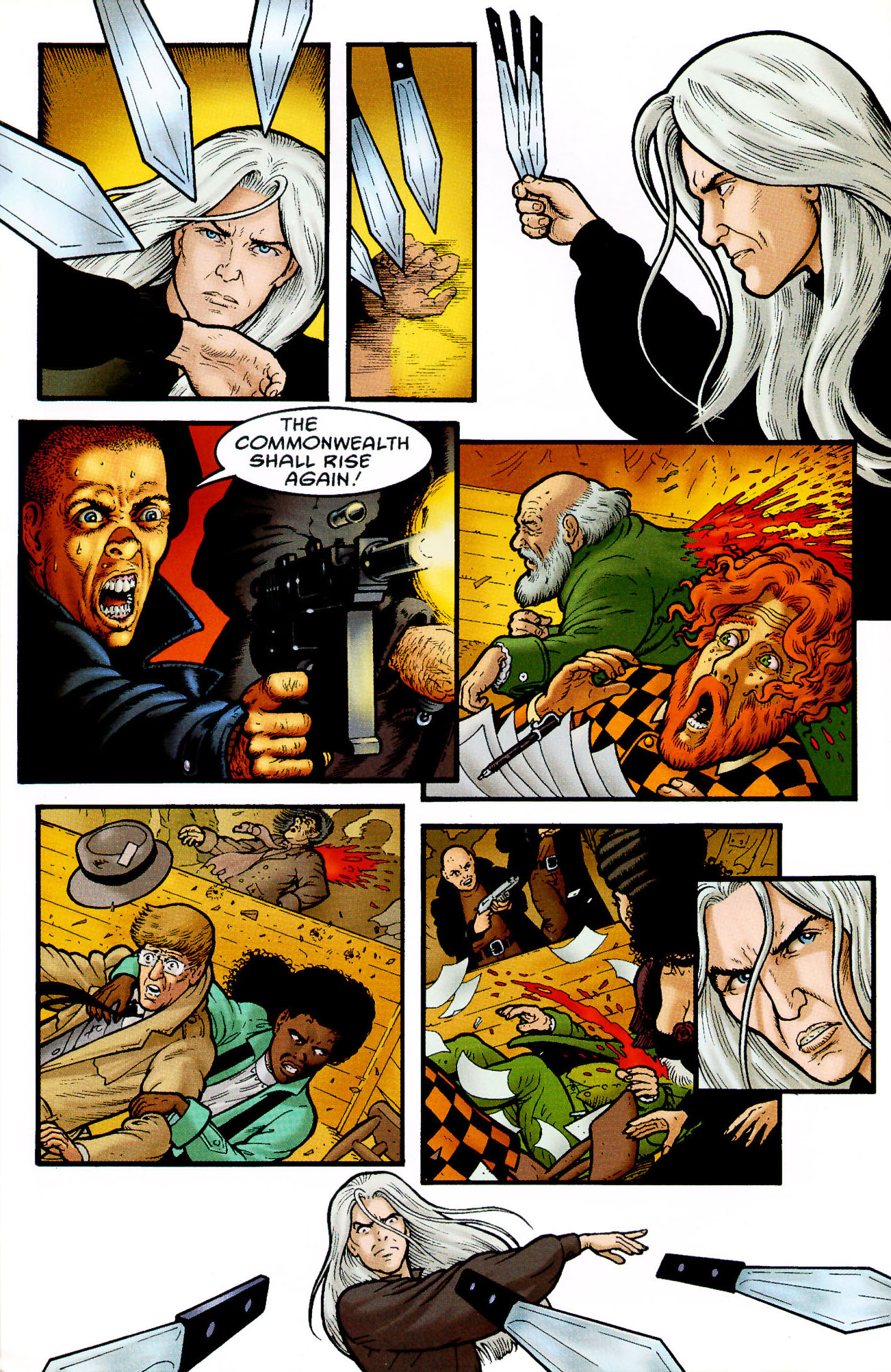 Read online Heart of Empire comic -  Issue #4 - 12