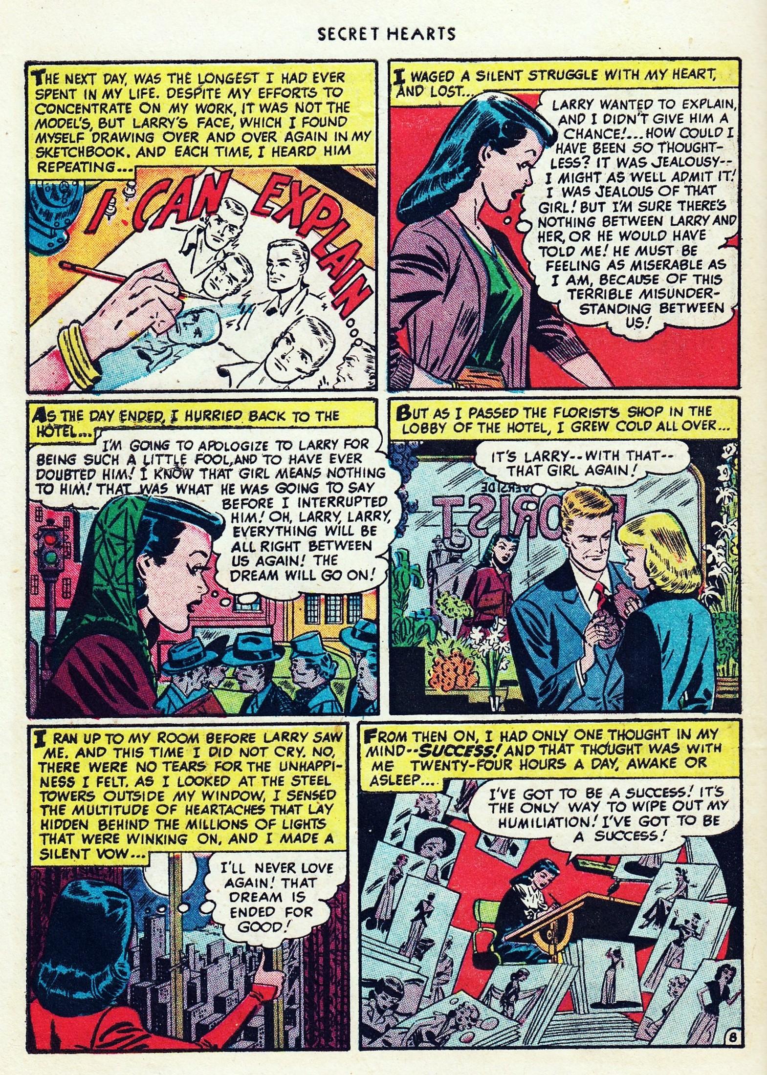 Read online Secret Hearts comic -  Issue #1 - 44