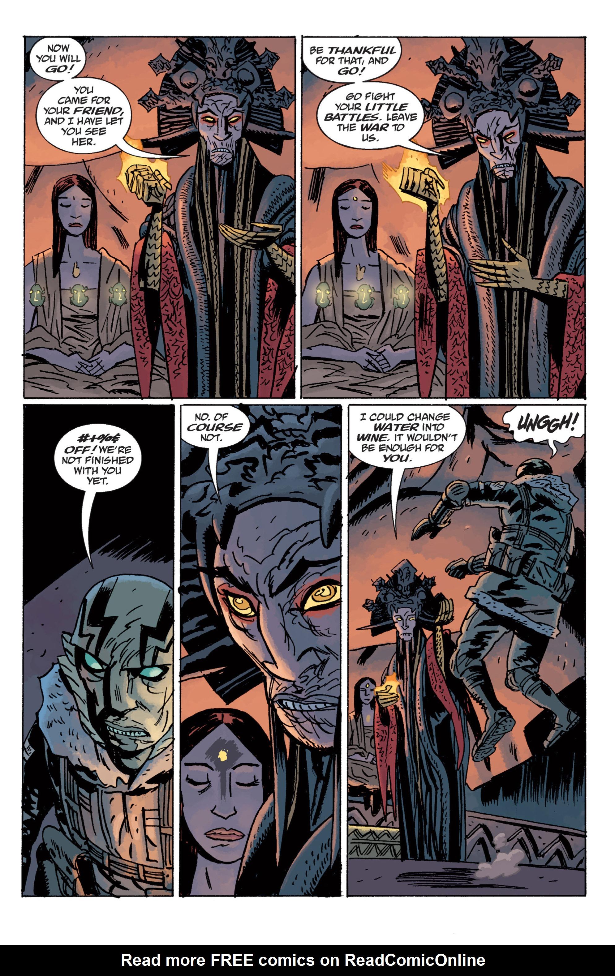 Read online B.P.R.D. (2003) comic -  Issue # TPB 11 - 119