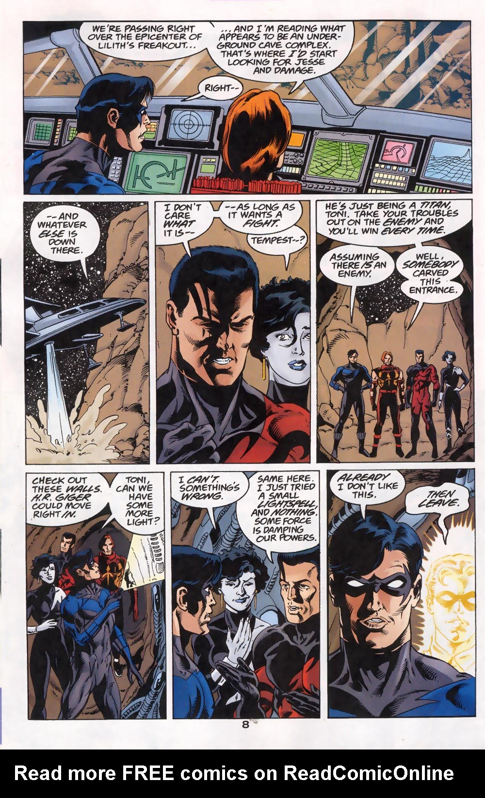 Read online The Titans (1999) comic -  Issue #46 - 9