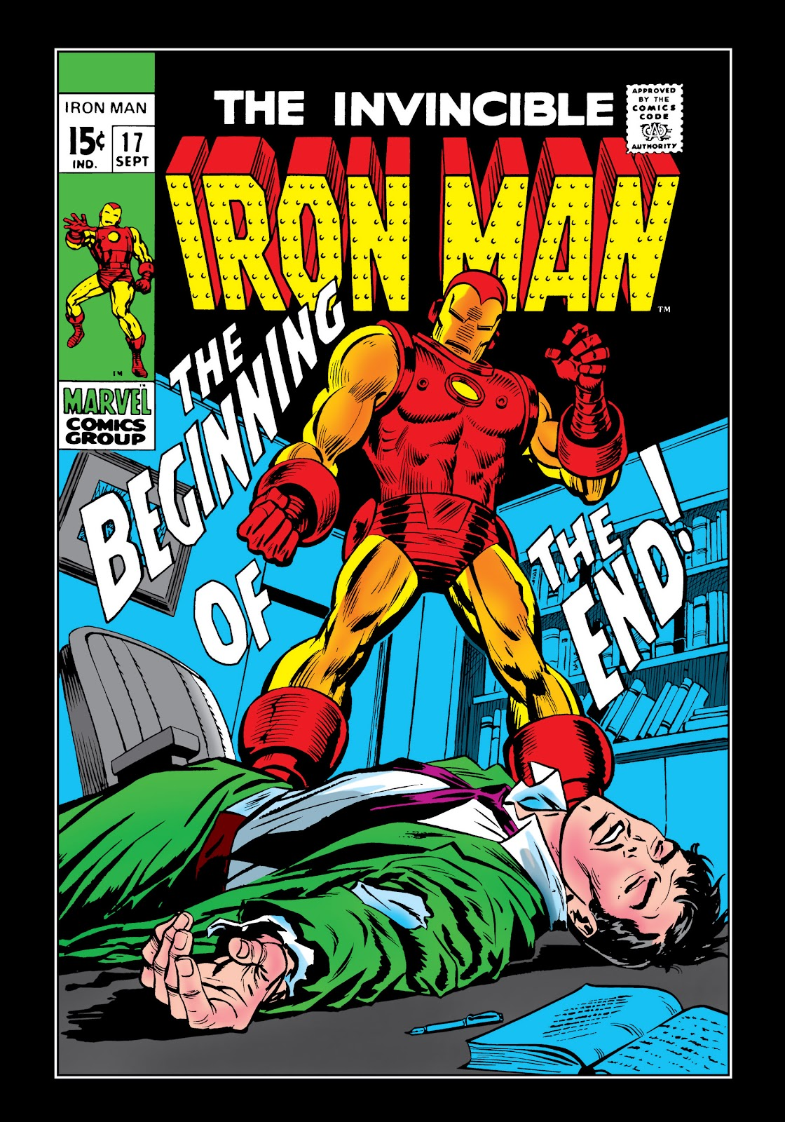 Read online Marvel Masterworks: The Invincible Iron Man comic -  Issue # TPB 6 (Part 1) - 69