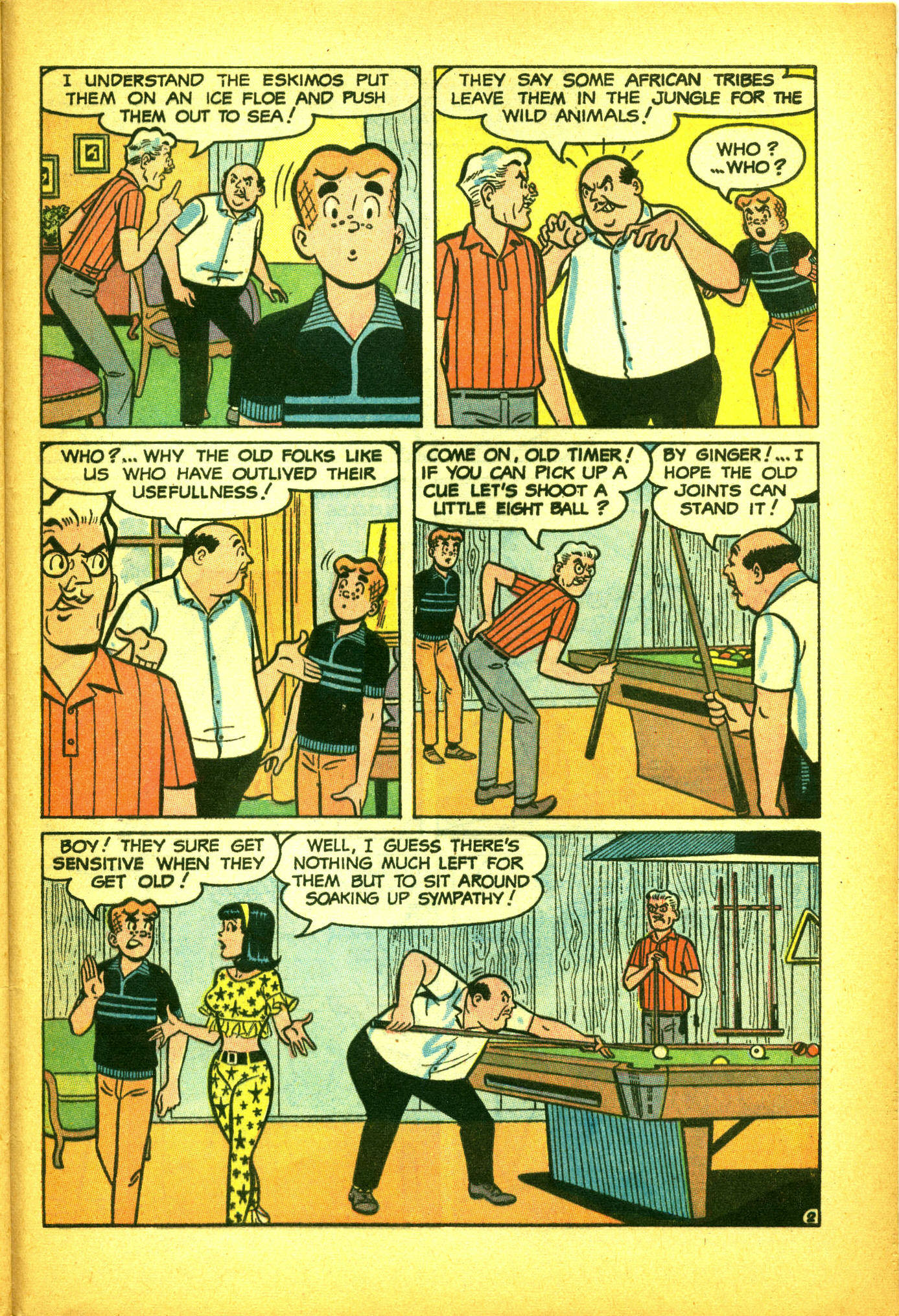 Read online Archie (1960) comic -  Issue #175 - 28