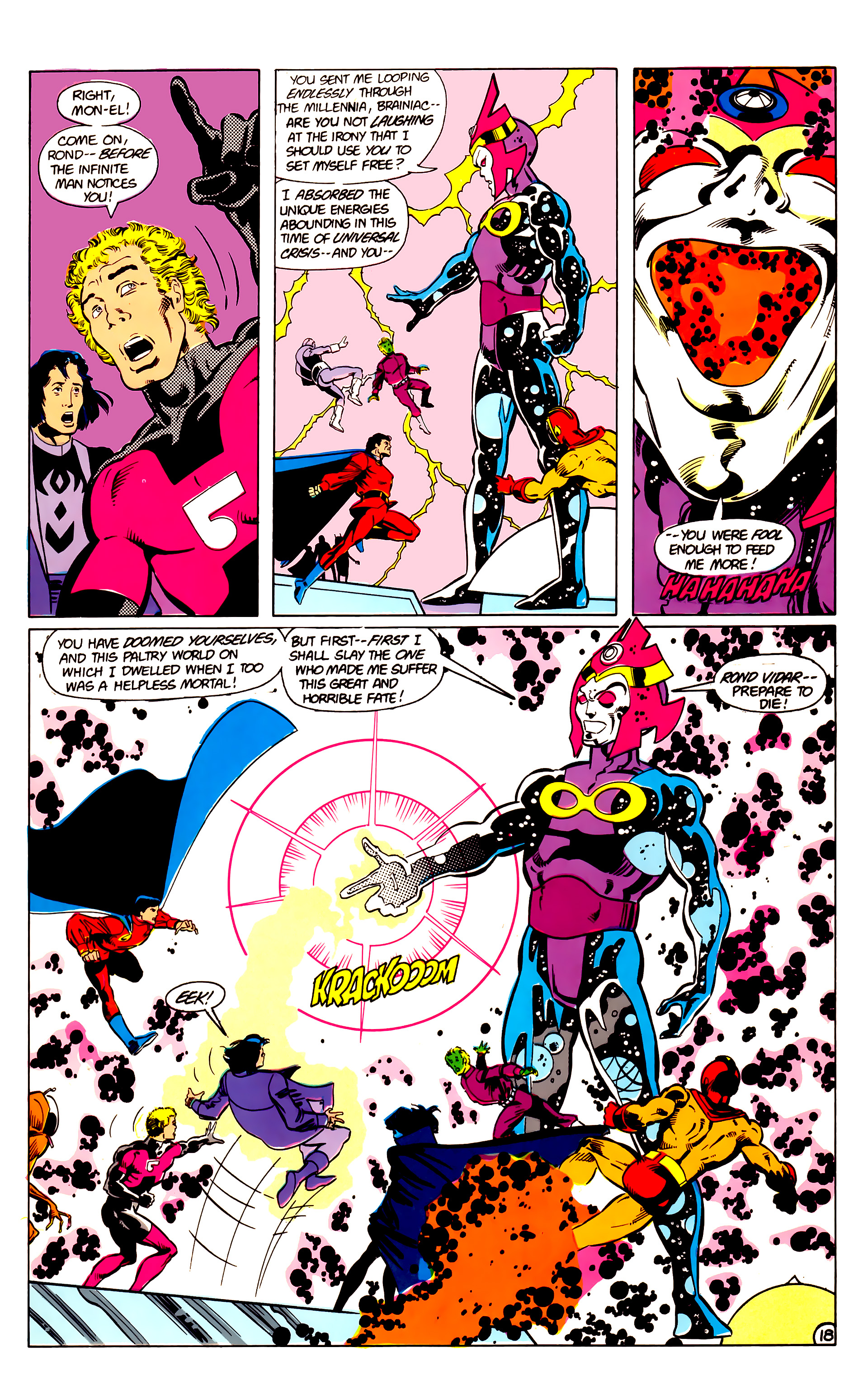 Legion of Super-Heroes (1984) 18 Page 18