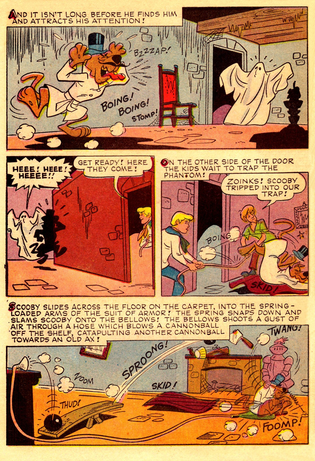 Read online Scooby-Doo... Where Are You! (1970) comic -  Issue #2 - 25