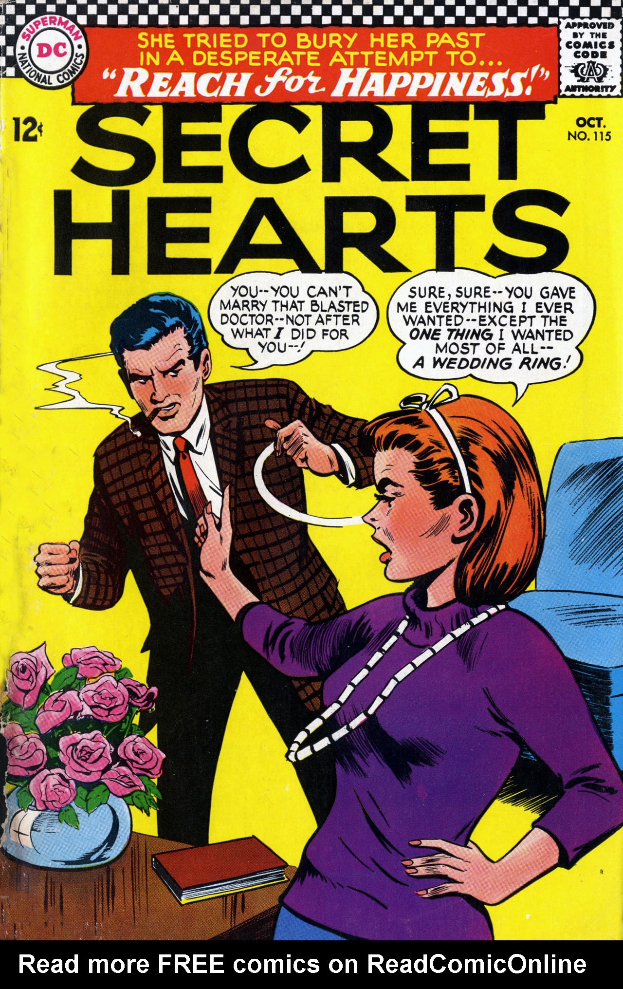 Read online Secret Hearts comic -  Issue #115 - 1