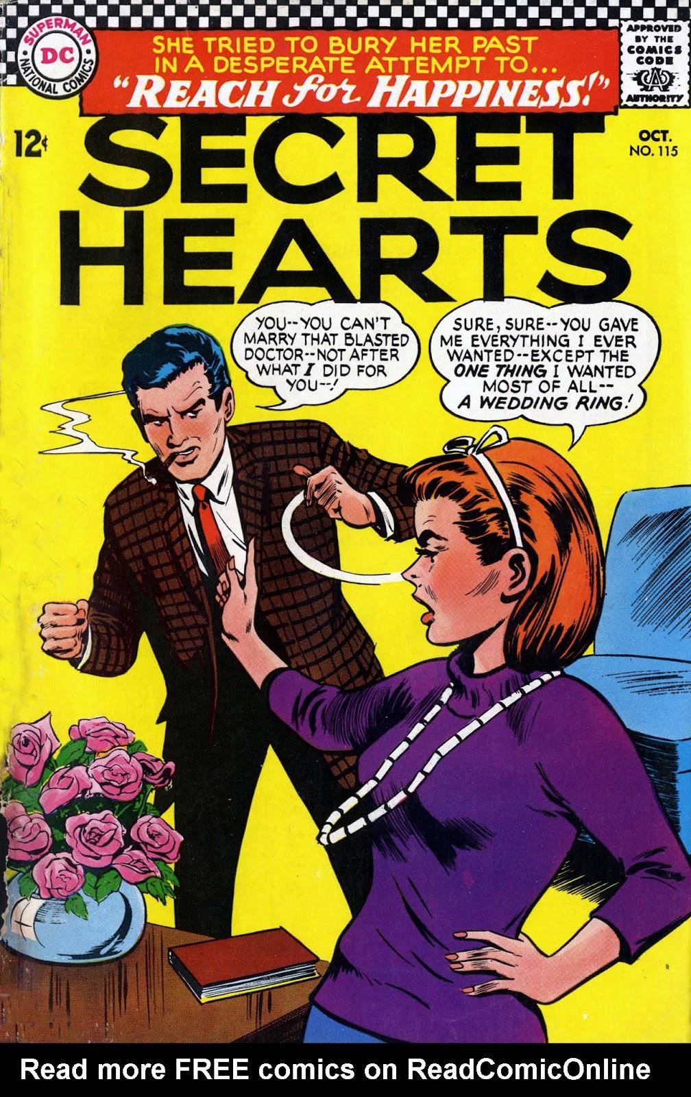Secret Hearts 115 Page 1