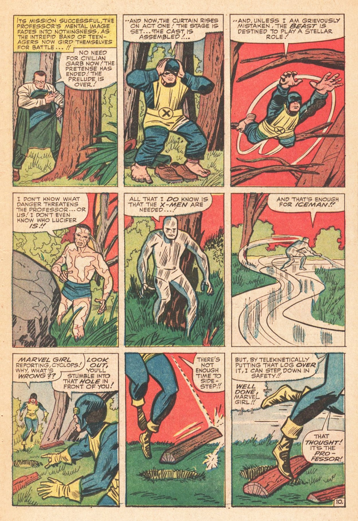 Read online Uncanny X-Men (1963) comic -  Issue # _Annual 1 - 13