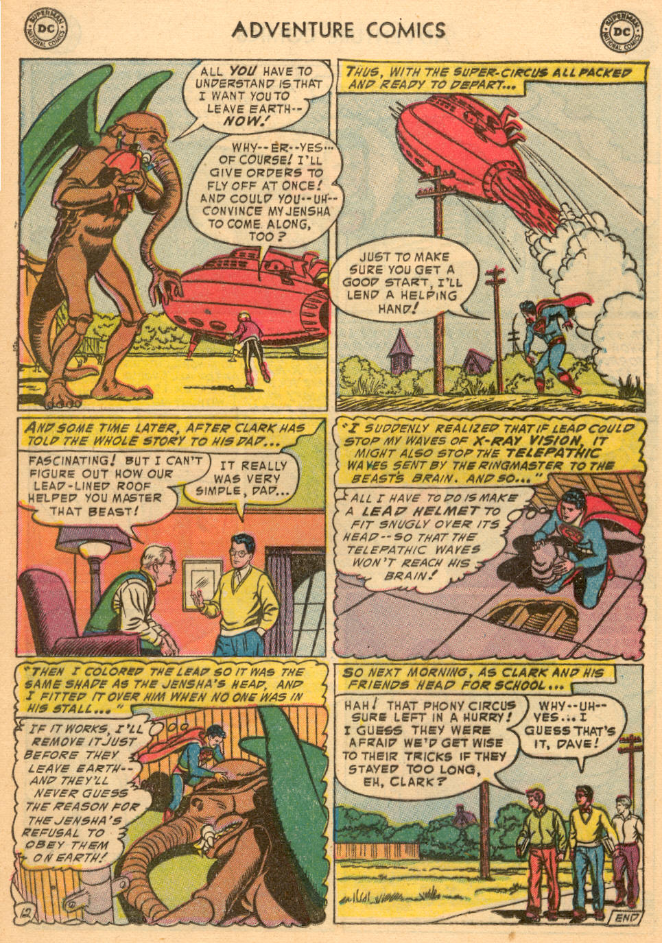 Read online Adventure Comics (1938) comic -  Issue #198 - 14