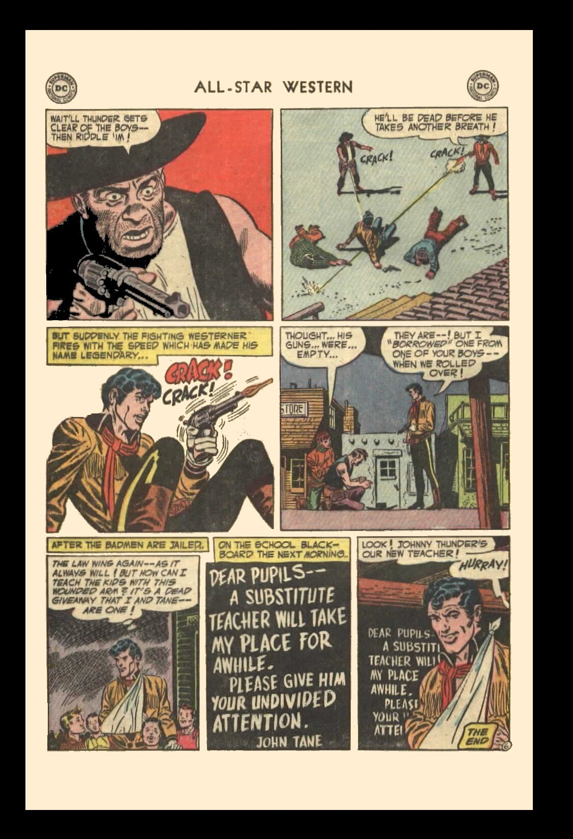 Read online All-Star Western (1951) comic -  Issue #72 - 8