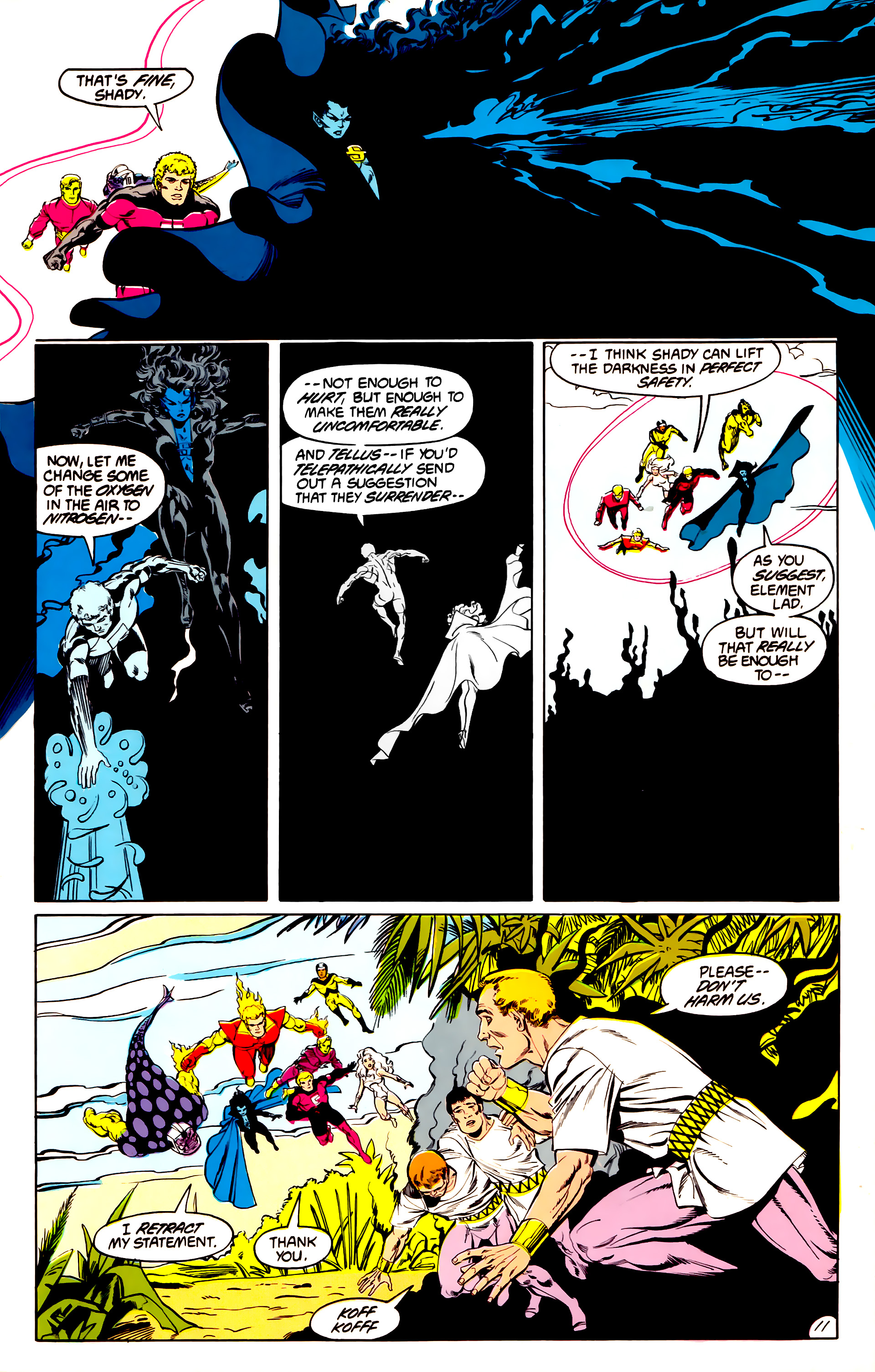Legion of Super-Heroes (1984) 43 Page 11
