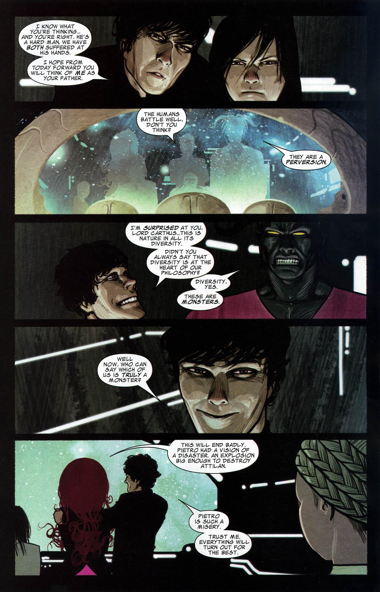 Read online Silent War comic -  Issue #6 - 12