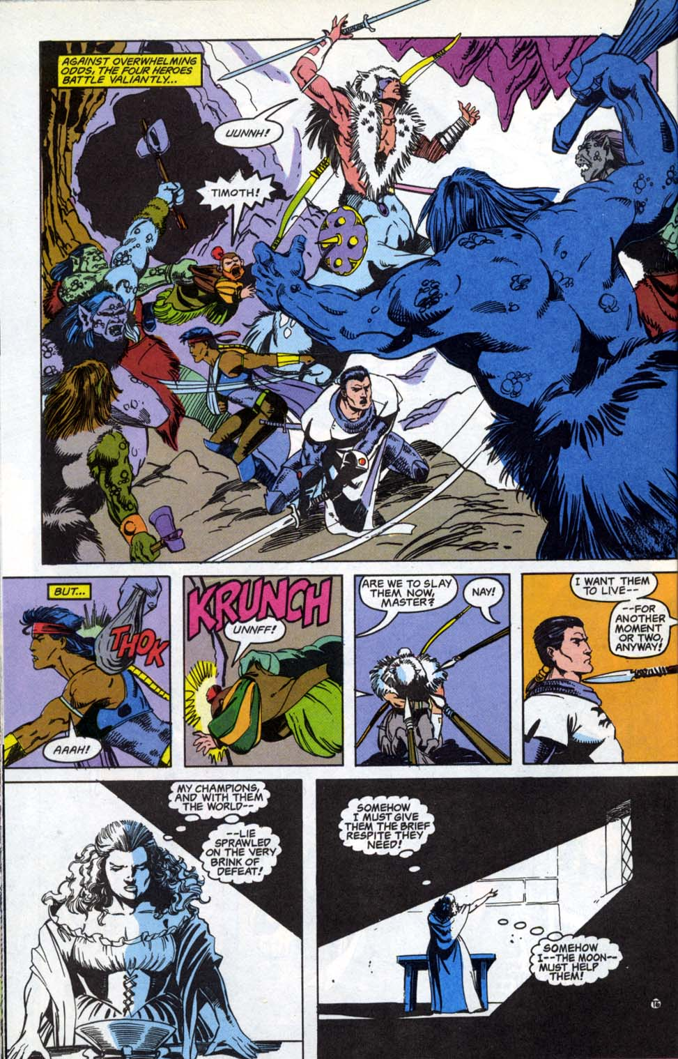 Read online Advanced Dungeons & Dragons comic -  Issue #4 - 16