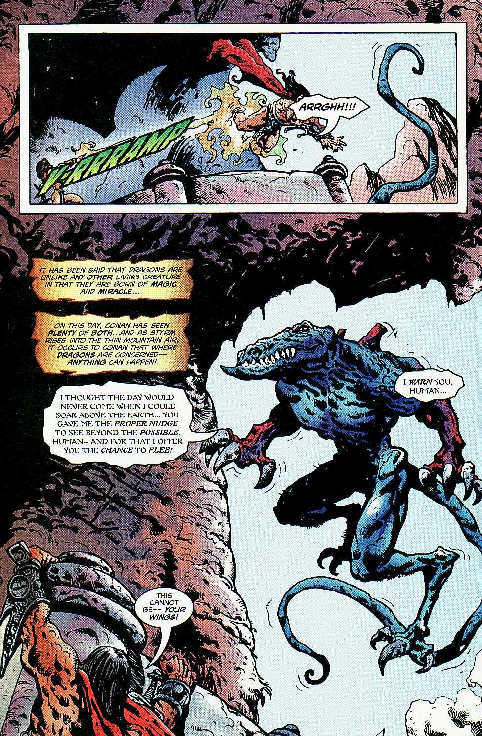 Read online Conan: Return of Styrm comic -  Issue #3 - 23