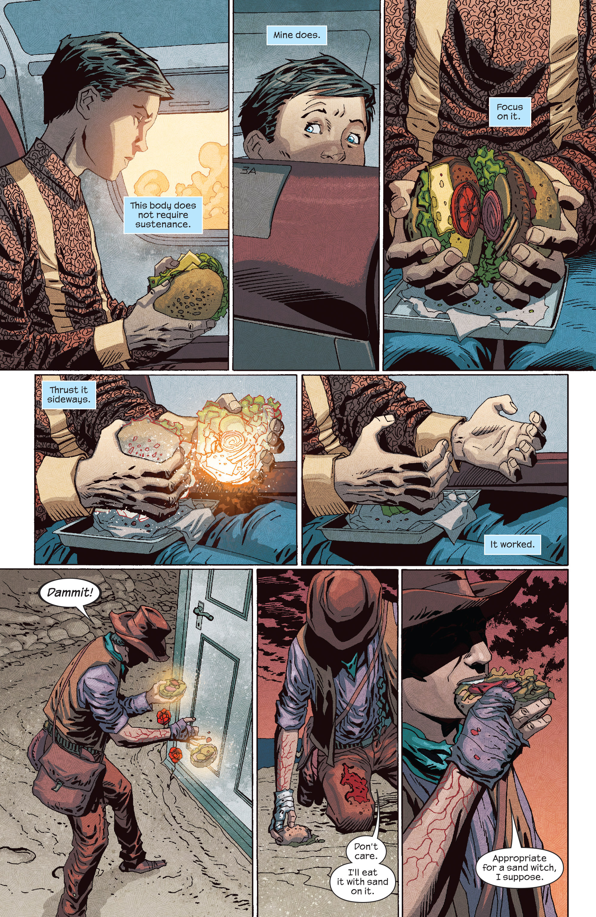 Read online Dark Tower: The Drawing of the Three - The Prisoner comic -  Issue #5 - 10