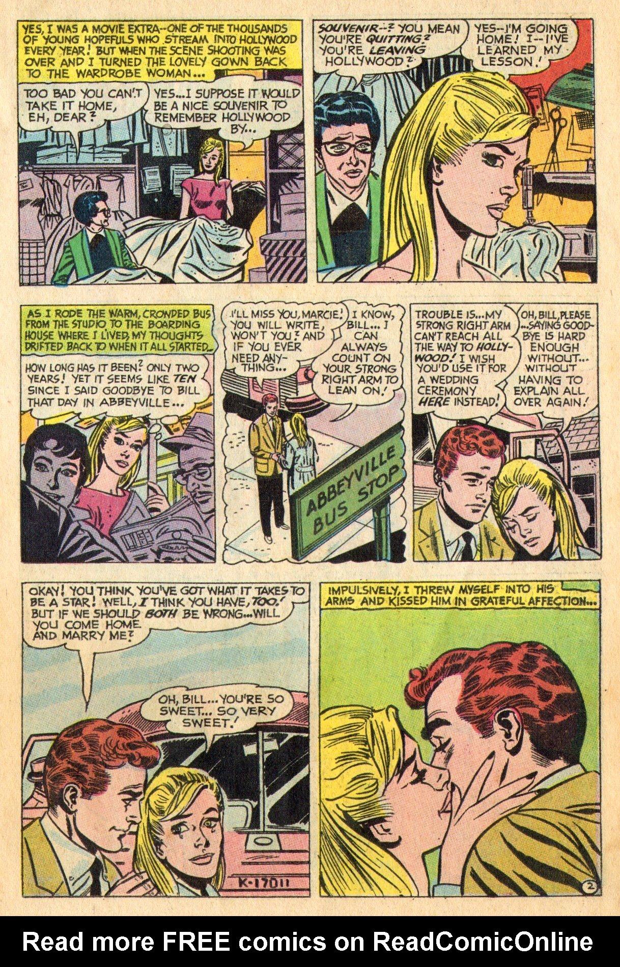 Read online Secret Hearts comic -  Issue #136 - 11