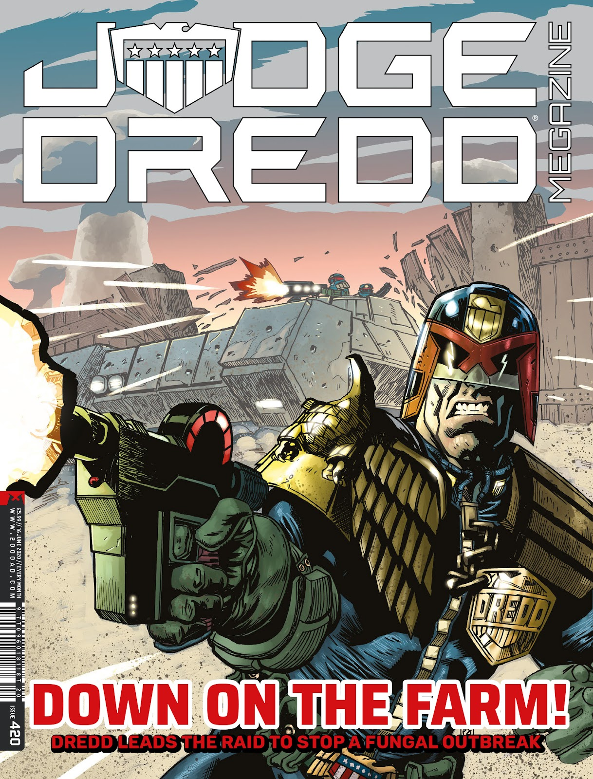 Judge Dredd Megazine (Vol.5) issue 420 - Page 1