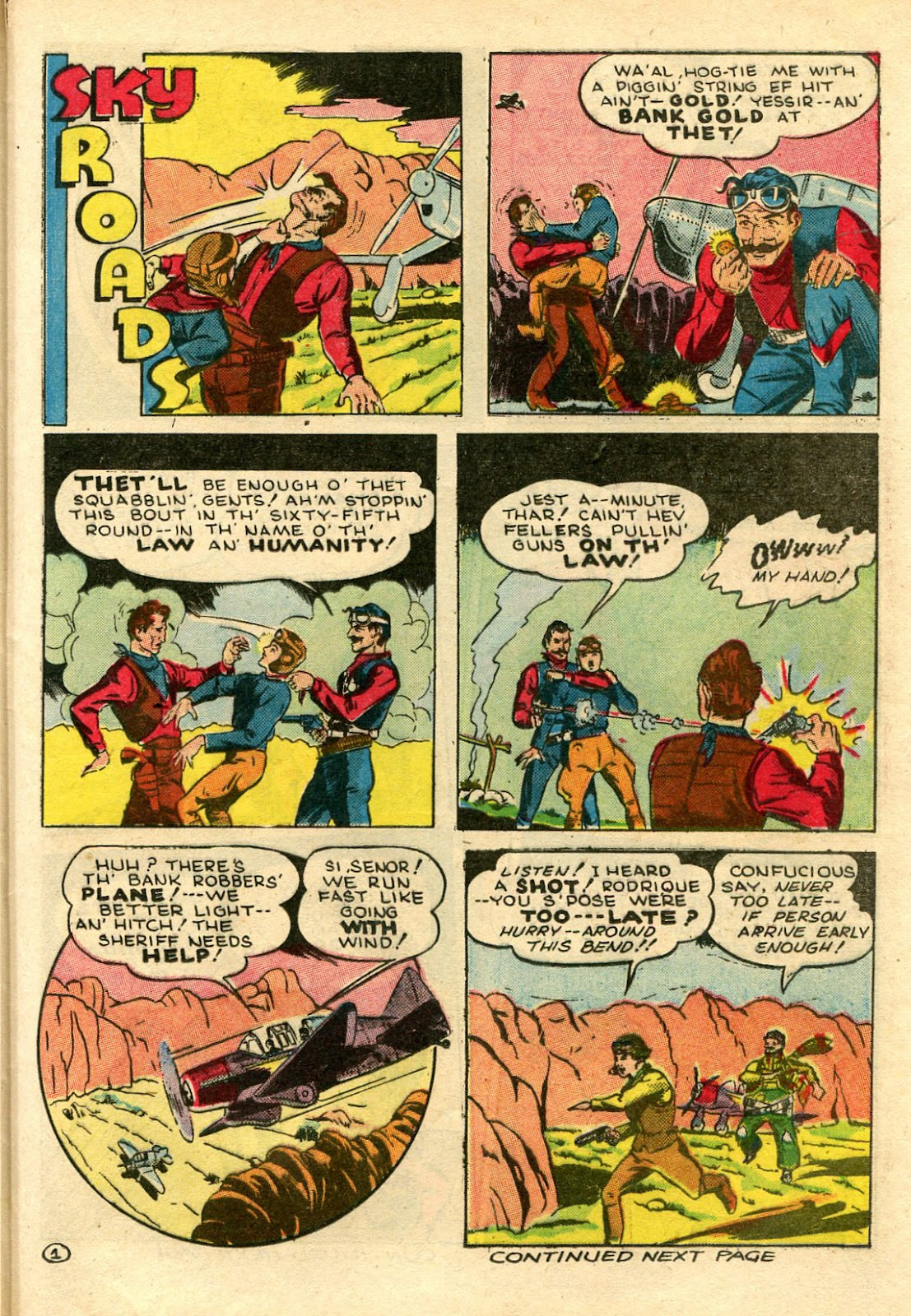 Read online Famous Funnies comic -  Issue #106 - 47