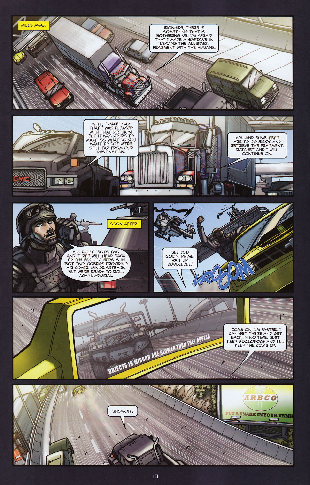 Read online Transformers: Alliance comic -  Issue #2 - 13