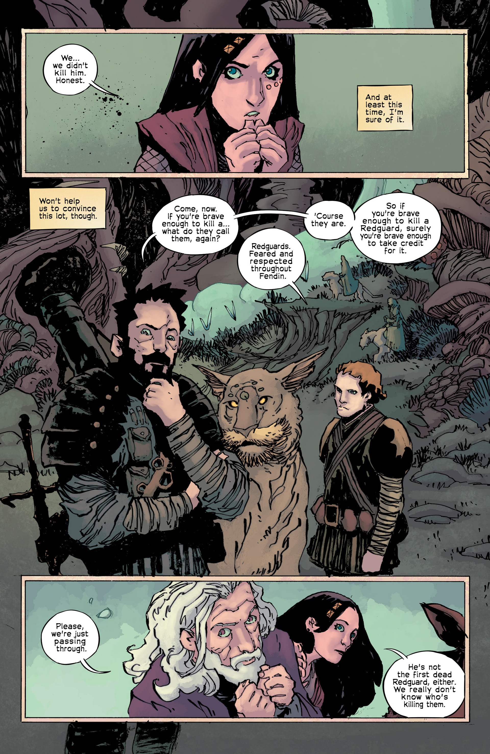 Read online Umbral comic -  Issue #9 - 4