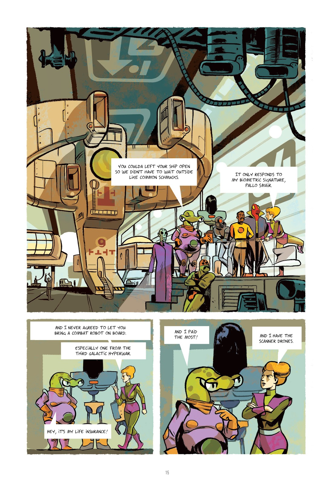 Read online Infinity 8 comic -  Issue # _TPB 3 - 16