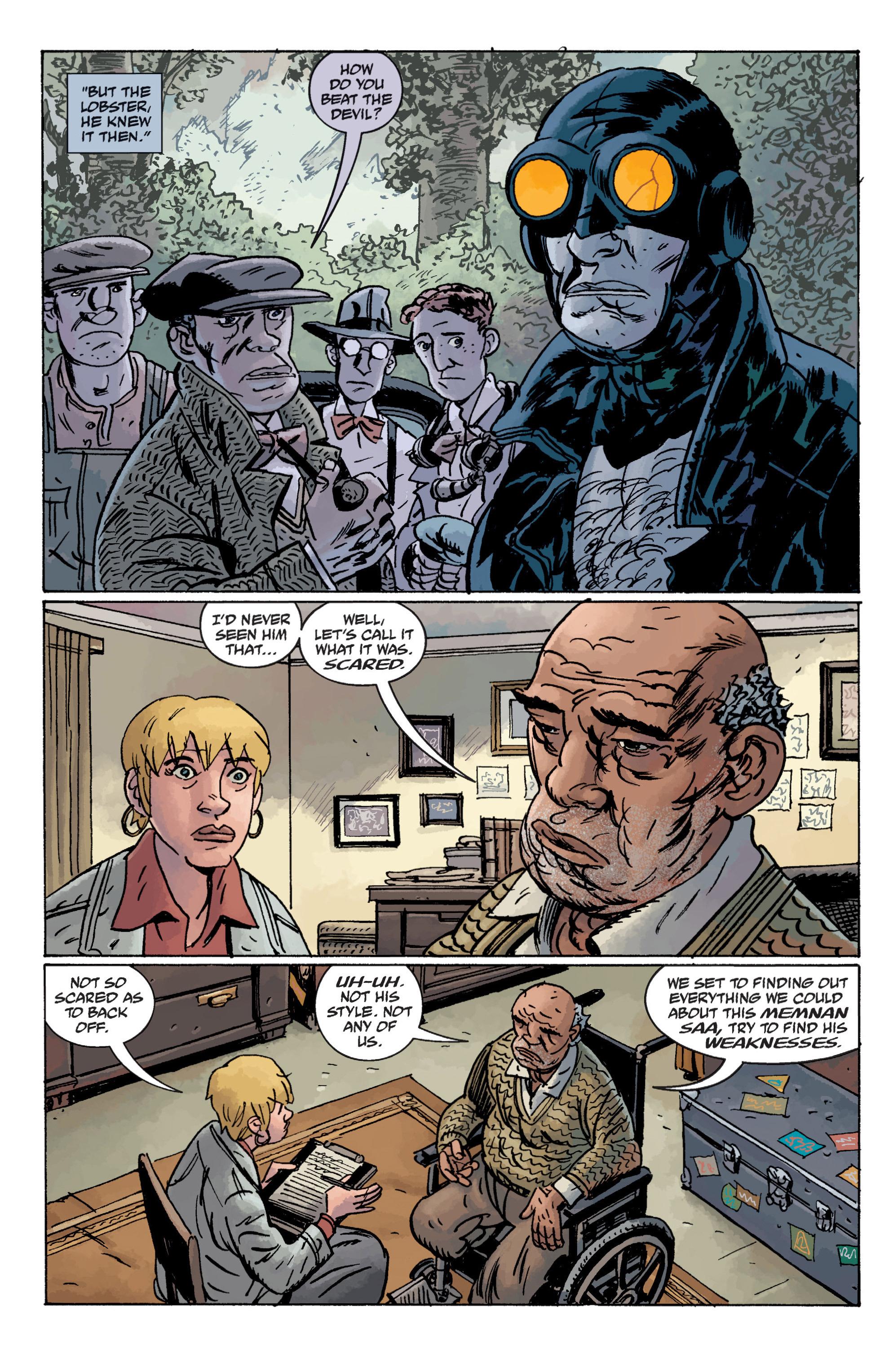 Read online B.P.R.D. (2003) comic -  Issue # TPB 11 - 16