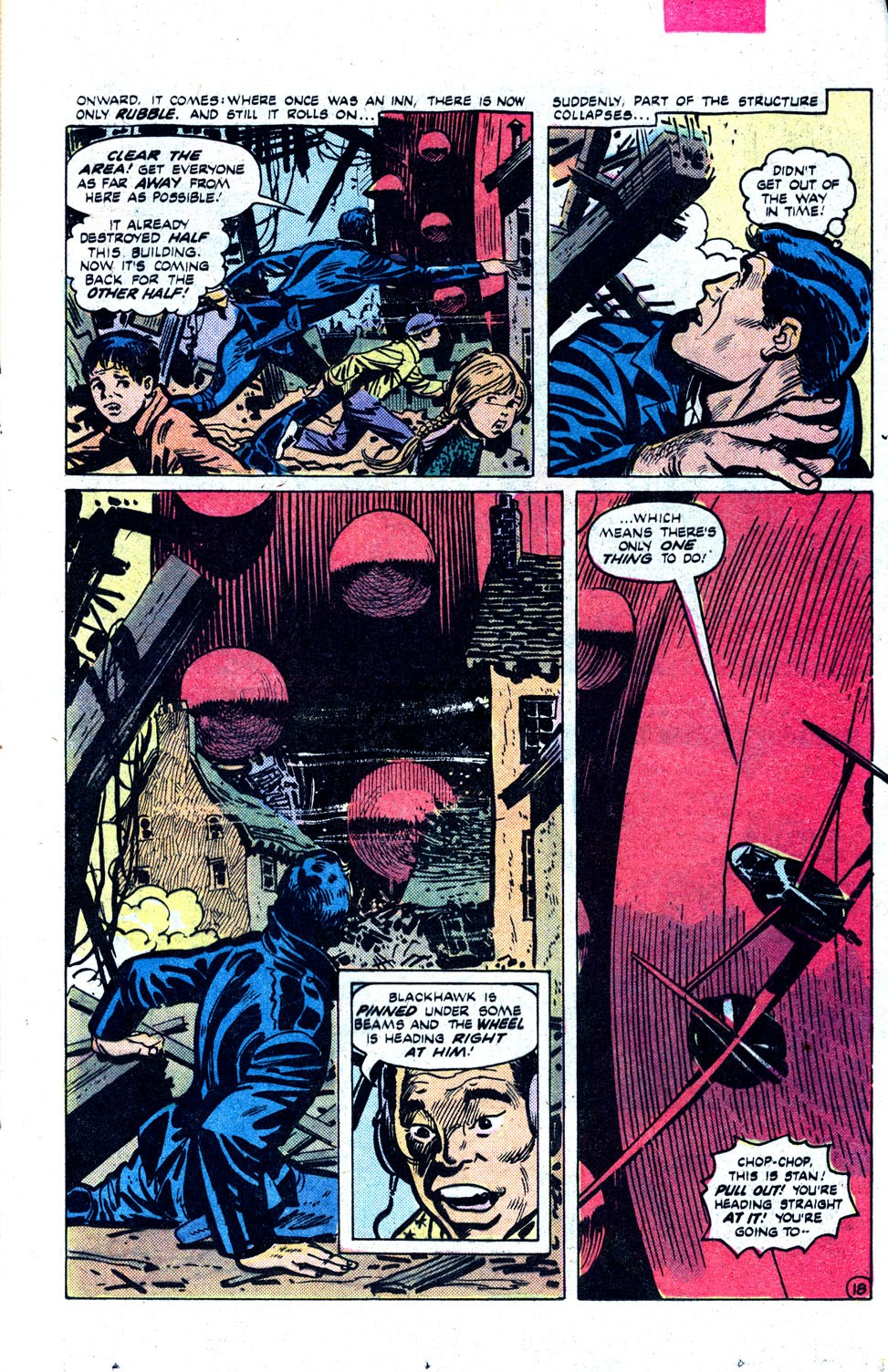 Read online Blackhawk (1957) comic -  Issue #252 - 24