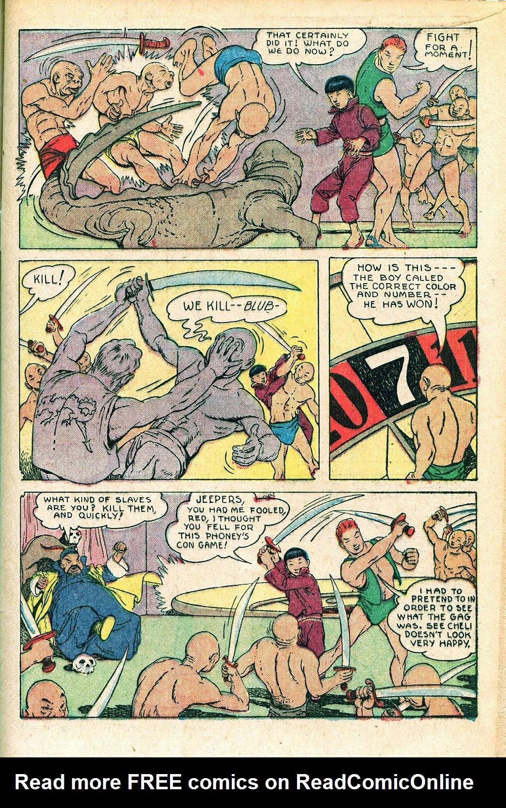 Read online Super-Magician Comics comic -  Issue #55 - 13