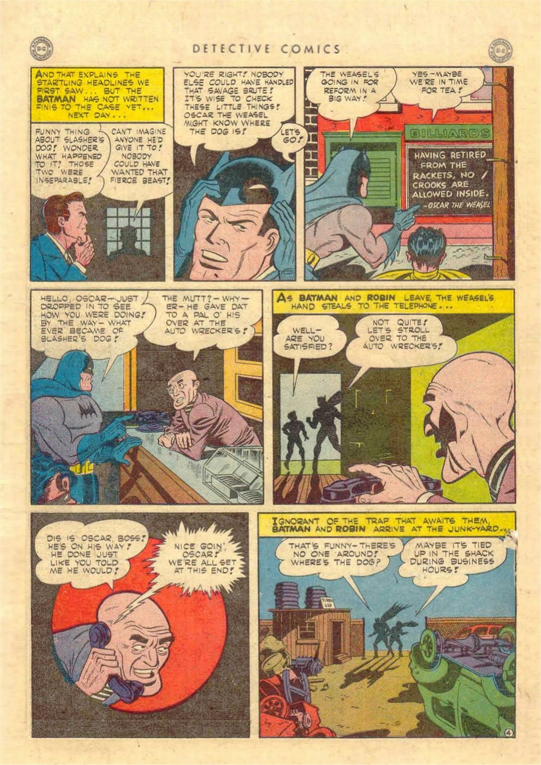 Read online Detective Comics (1937) comic -  Issue #97 - 6