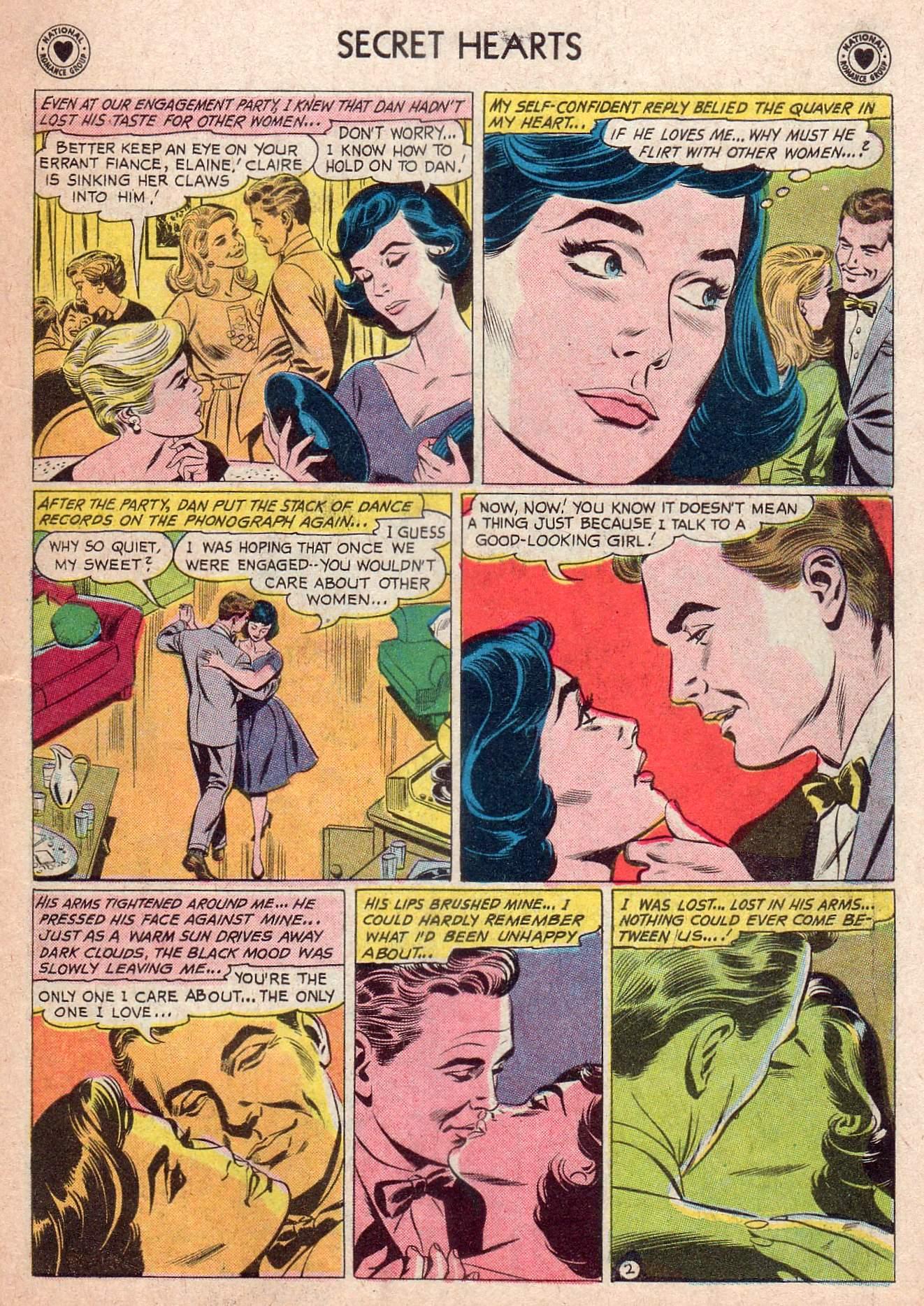 Read online Secret Hearts comic -  Issue #73 - 19