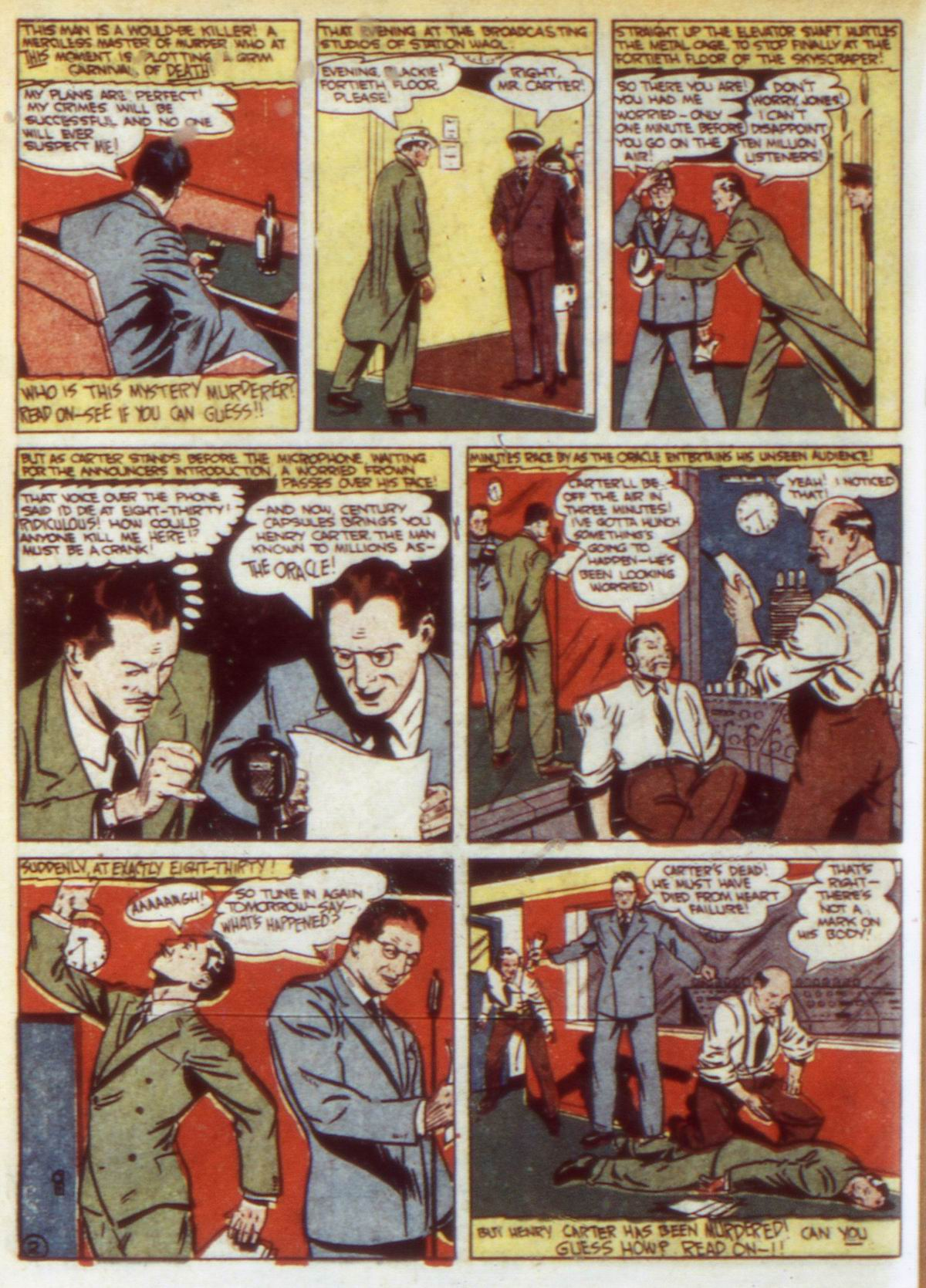 Read online Detective Comics (1937) comic -  Issue #60 - 32
