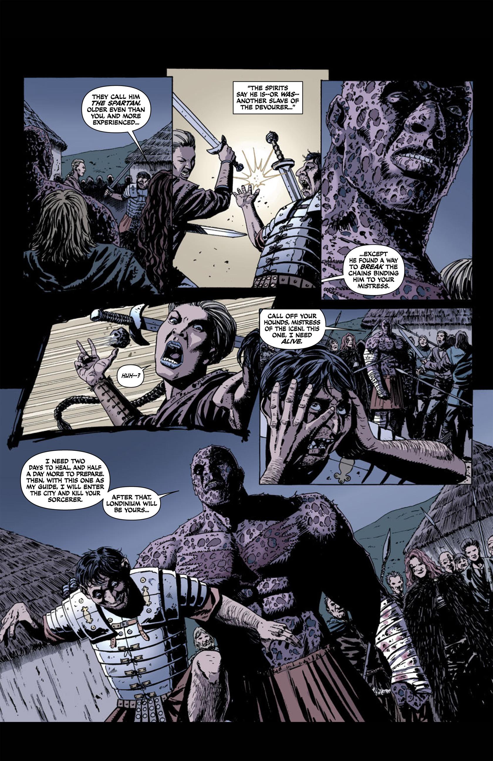 Read online Aquila comic -  Issue #1 - 23
