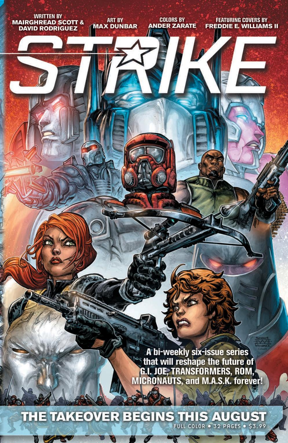 Read online First Strike comic -  Issue #0 - 9