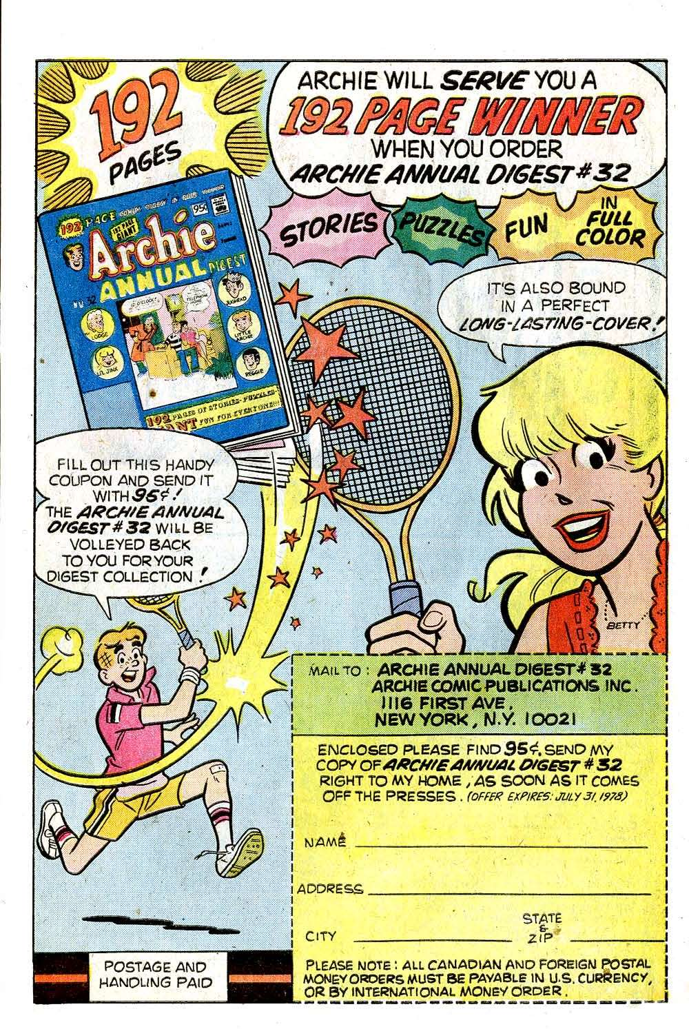 Read online Archie (1960) comic -  Issue #269 - 27