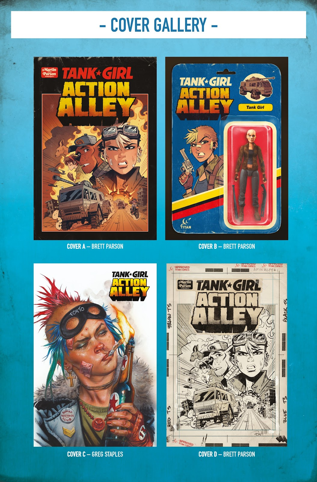 Read online Tank Girl Ongoing comic -  Issue #1 - 25
