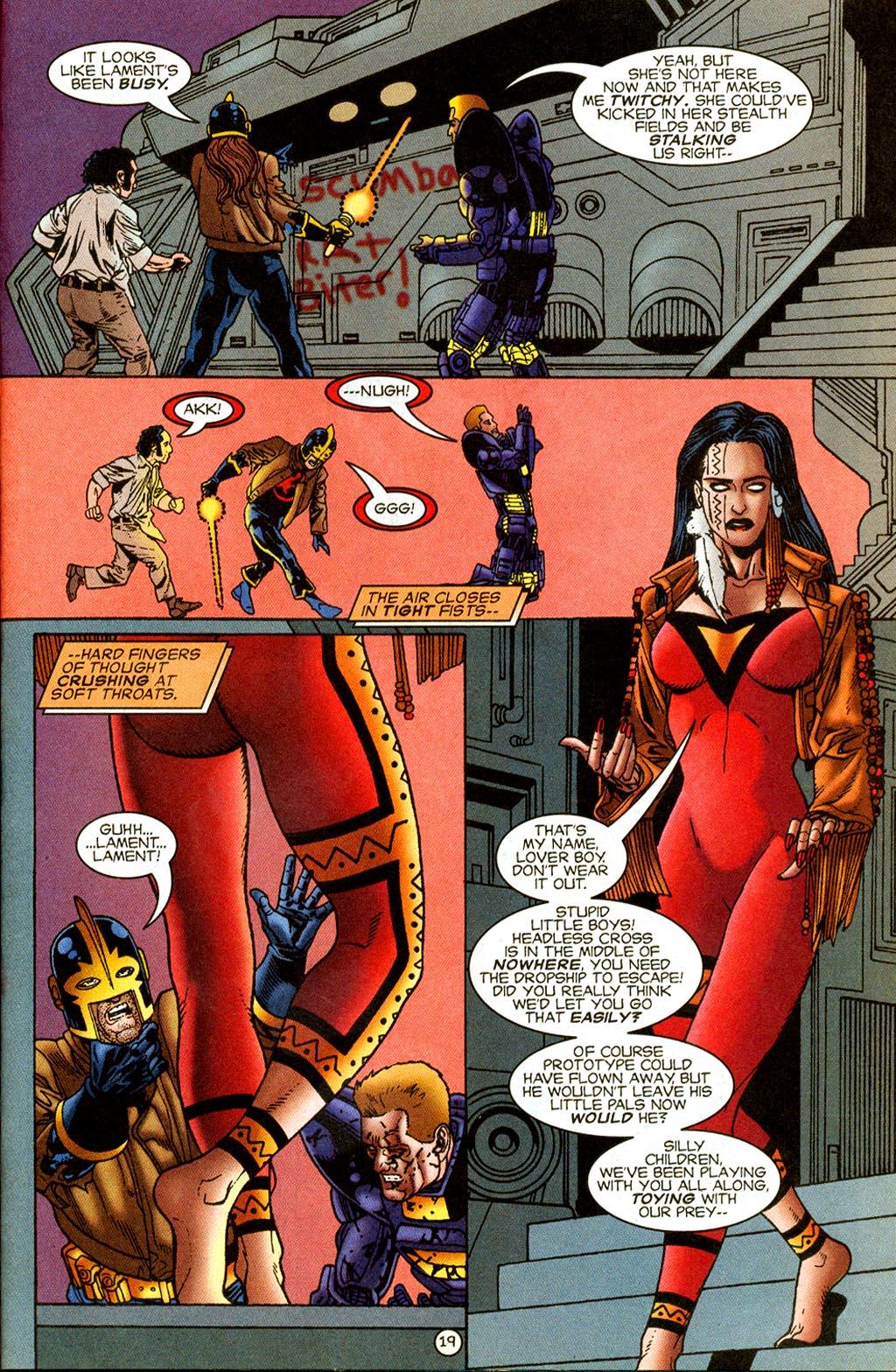 Read online UltraForce (1995) comic -  Issue #8 - 20