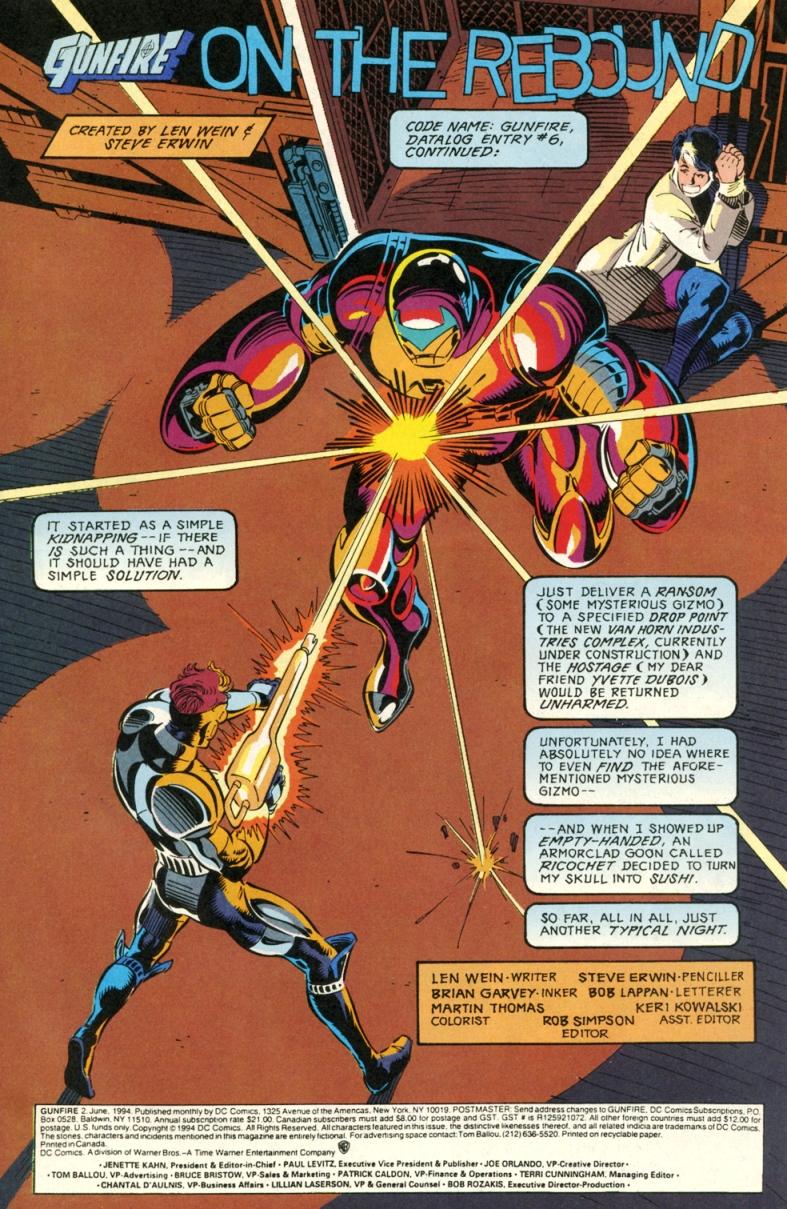 Read online Gunfire comic -  Issue #2 - 3