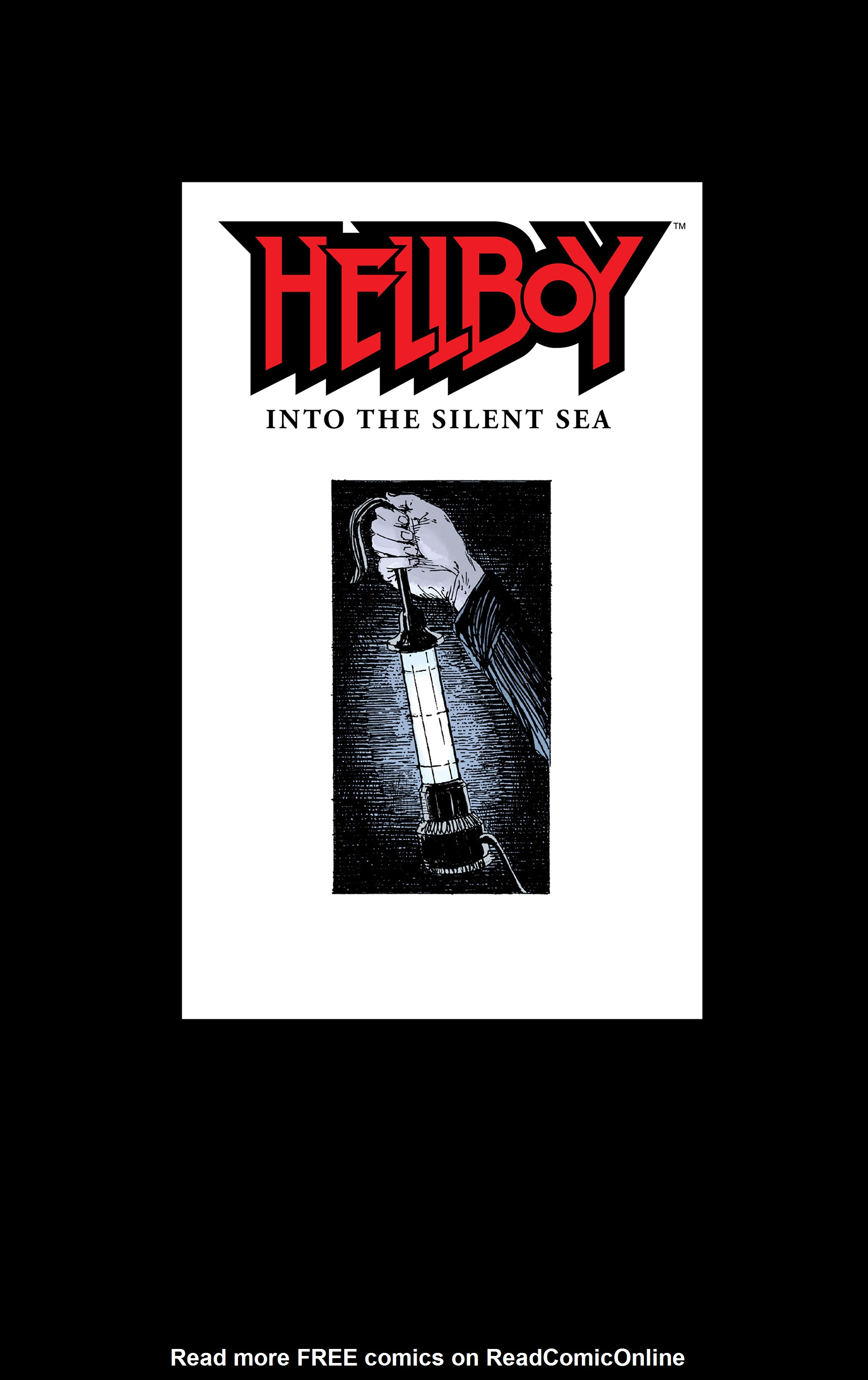 Read online Hellboy: Into the Silent Sea comic -  Issue # Full - 3