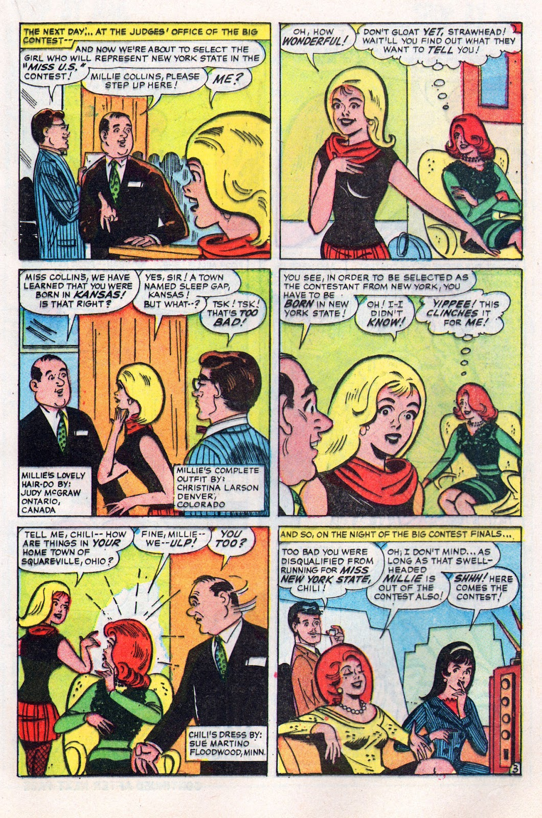 Read online Millie the Model comic -  Issue # Annual 6 - 49