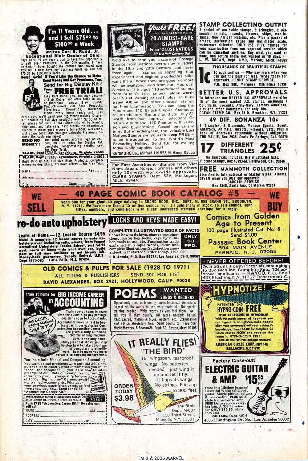 Read online Uncanny X-Men (1963) comic -  Issue #77 - 22